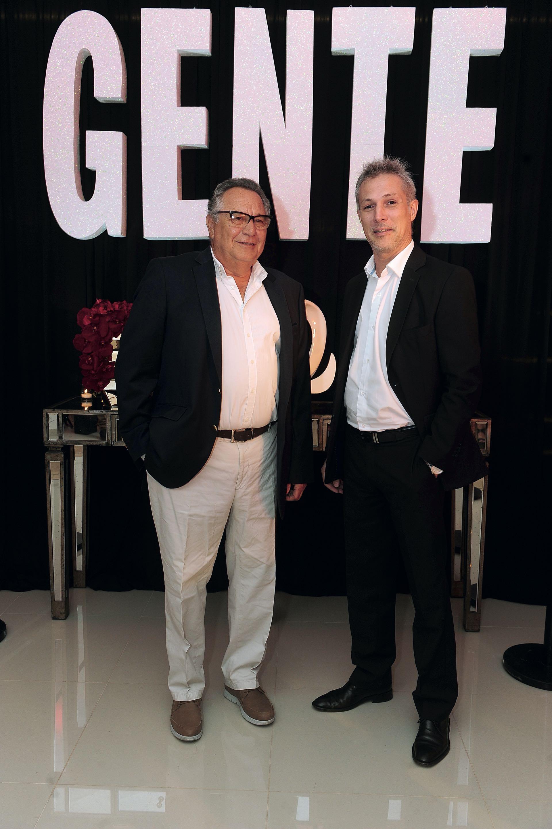 Marcelo Schaer, Jefe de Publicidad de Editorial Atlántida, con Alejandro Strumia, Director de Promoción y Marketing de la Agencia Córdoba Turismo. (Foto GENTE)