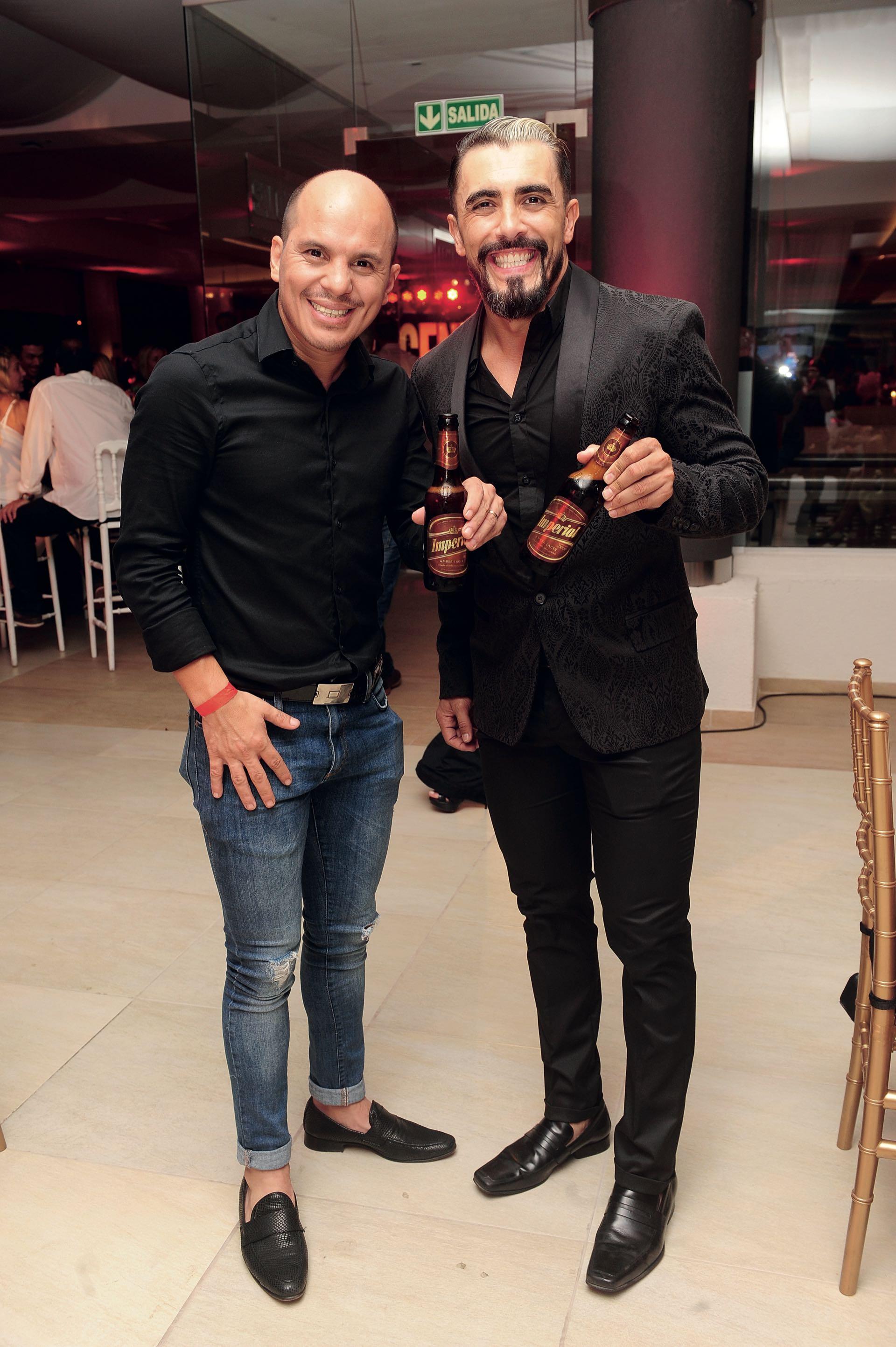 Angel Carabajal y Fernando Bertona, de Bien Argentino. (Foto GENTE)