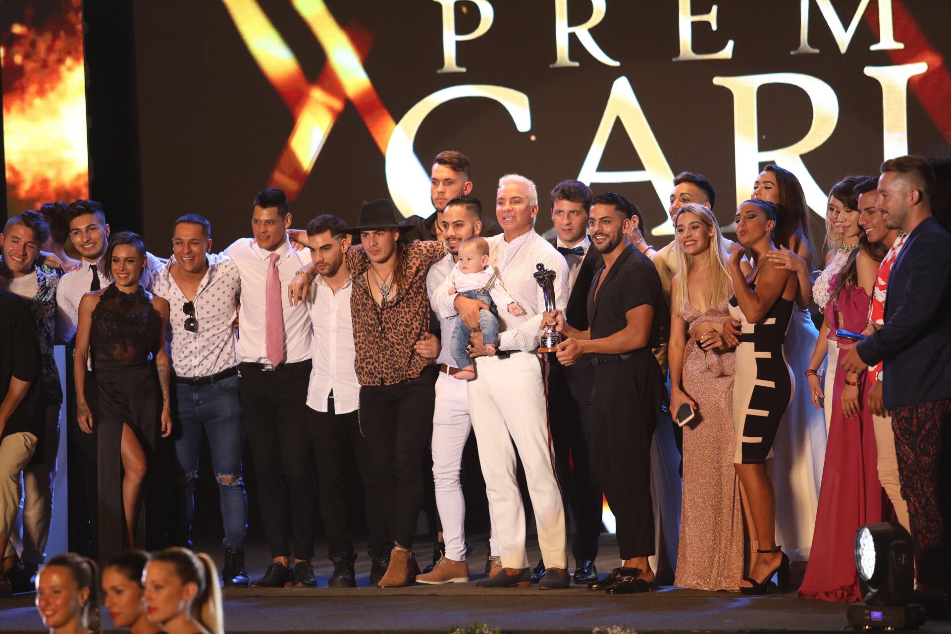 El equipo de Mahatma, la obra que se llevó el premio a Mejor Producción