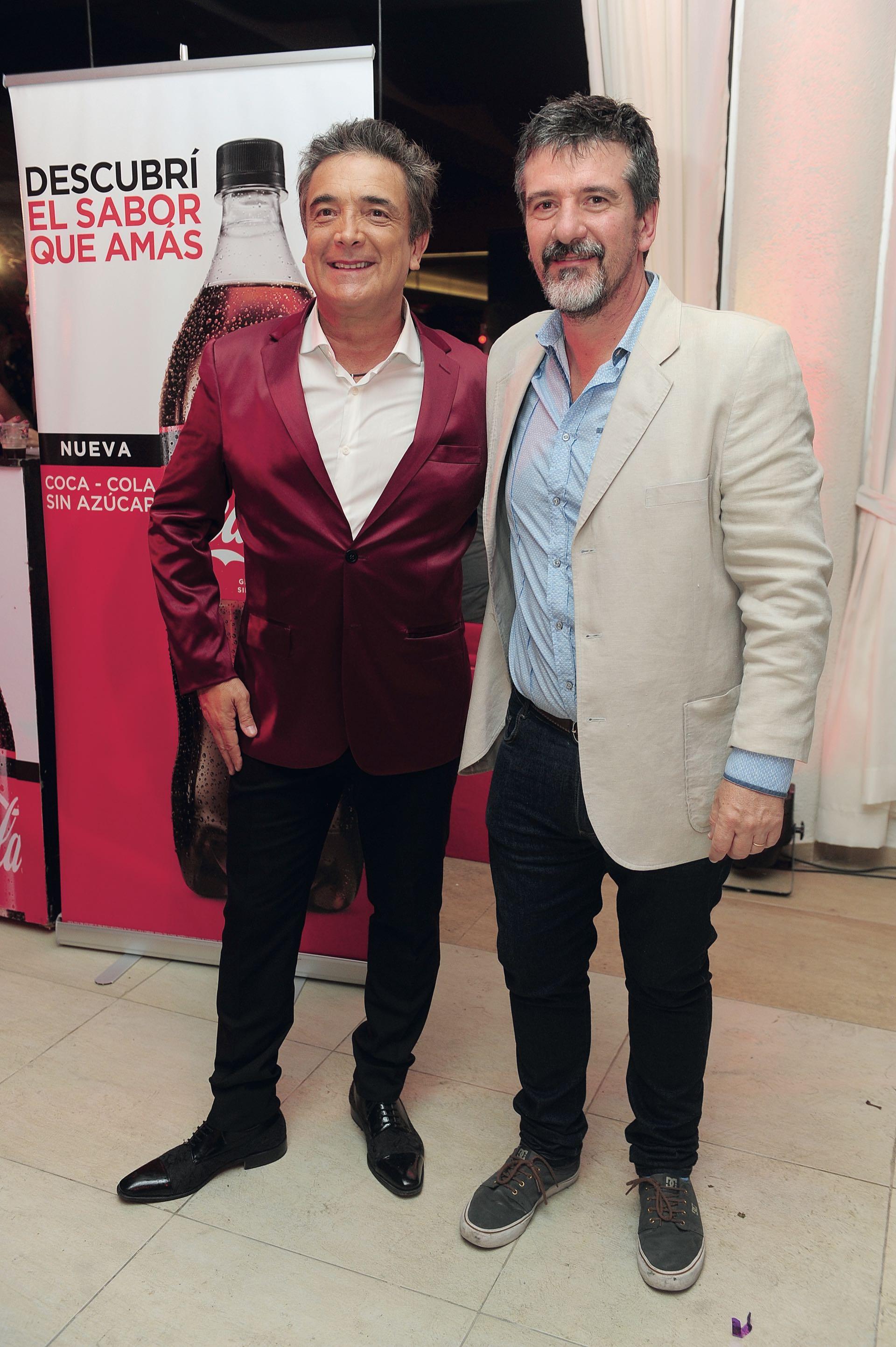 Nito Artaza y Hugo Martin, Jefe de Redacción de GENTE. (Foto GENTE)