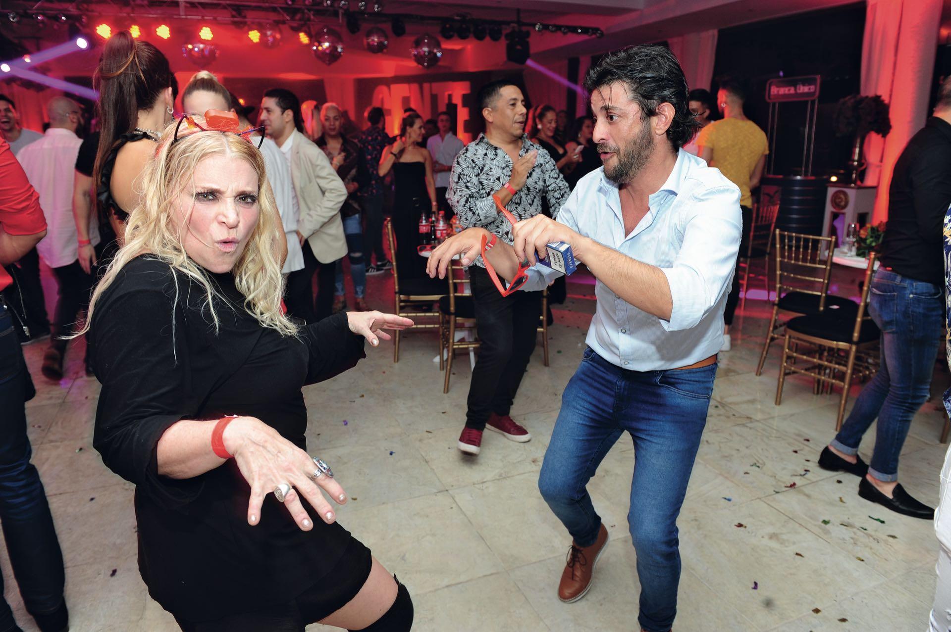 A puro dancing, Divina Gloria y Pablo Rago. (Foto GENTE)