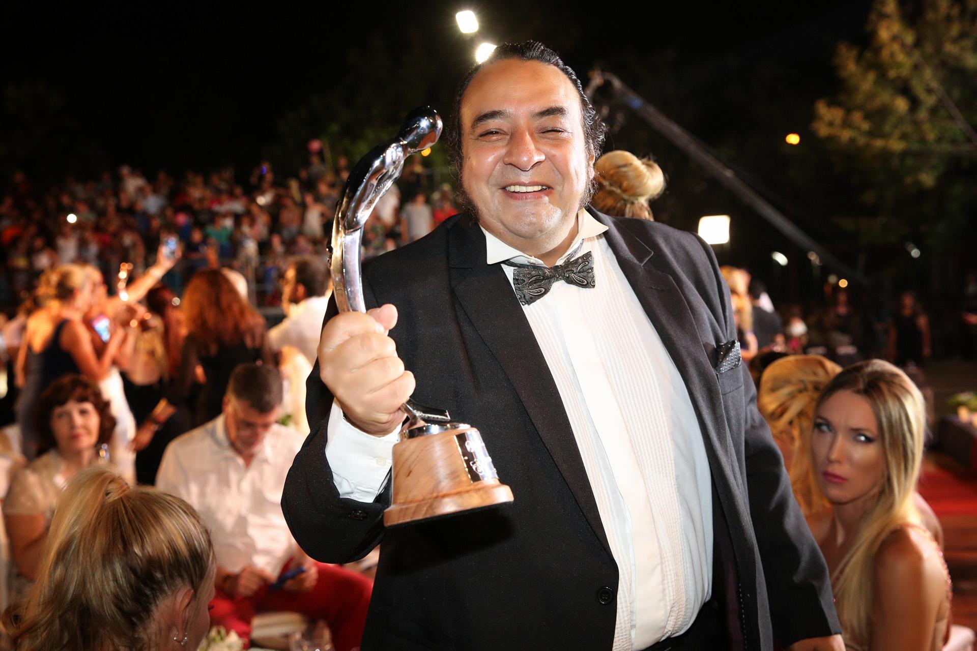 Gabriel Almirón ganó como Mejor actor de reparto