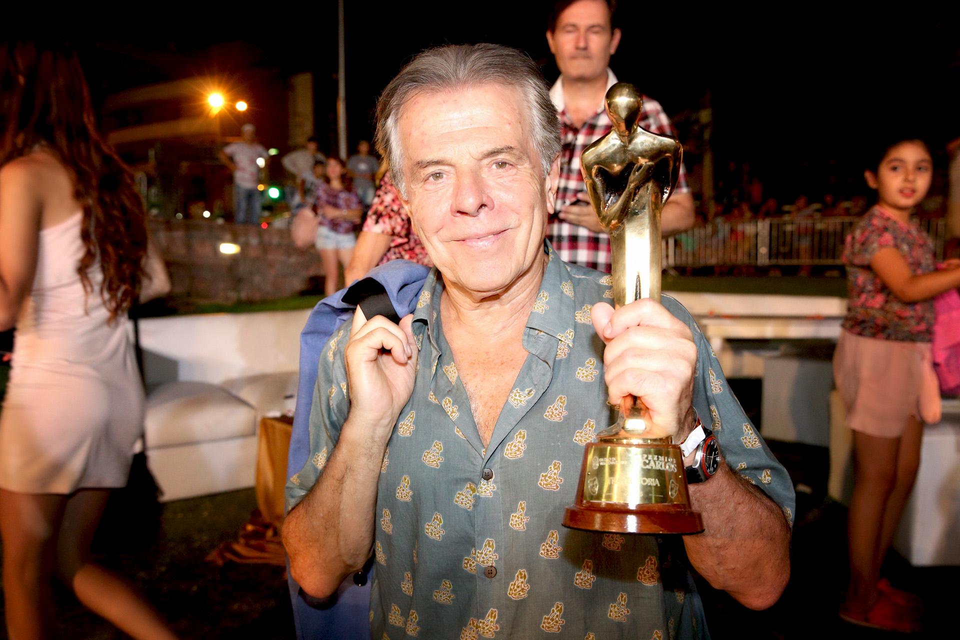 Victor Laplace, premiado por su trayectoria