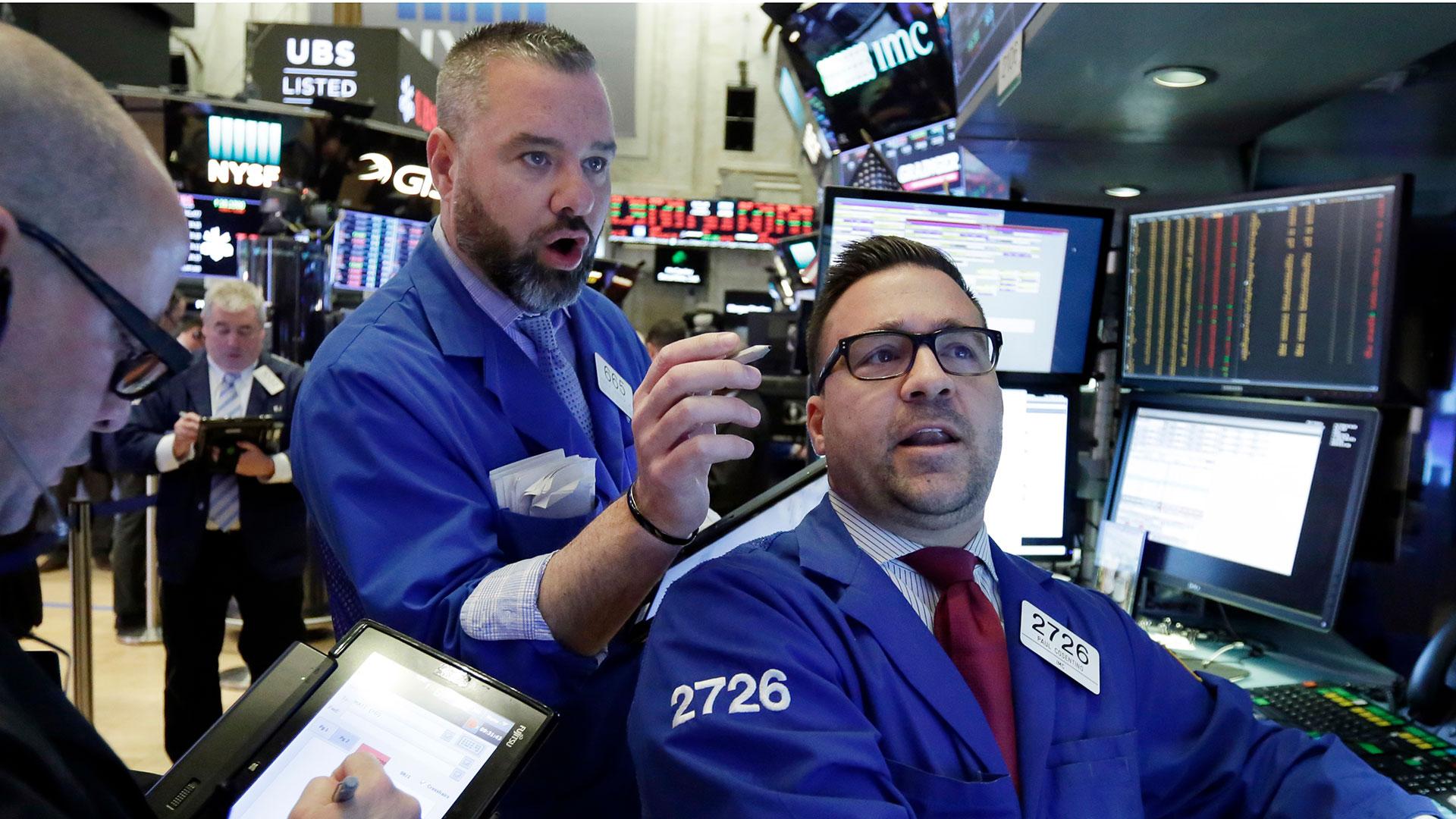 Los mercados de Nueva Yorkya registraban bajas en las operaciones pre mercado