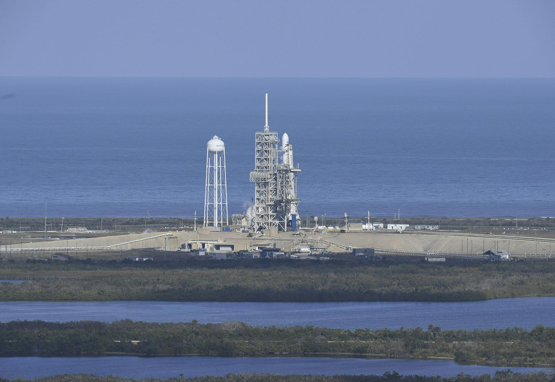 Falcon Heavy de Space X despegó de Cabo Cañaveral, en Florida, el 6 de febrero de 2018