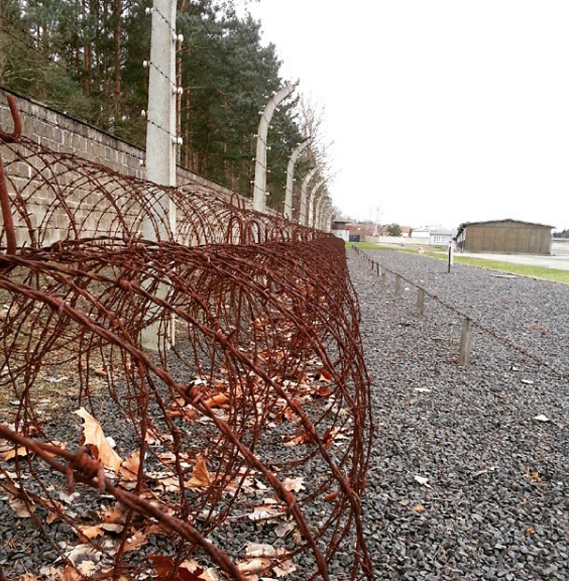 Muro. Campo de concentración Sachsenhausen