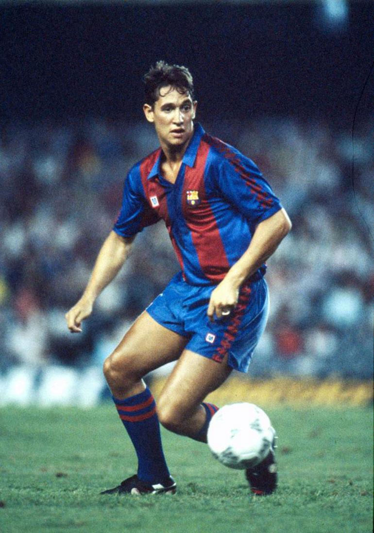 """Lineker jugó en el Barcelona que realizó el primer """"pasillo"""" en un clásico"""