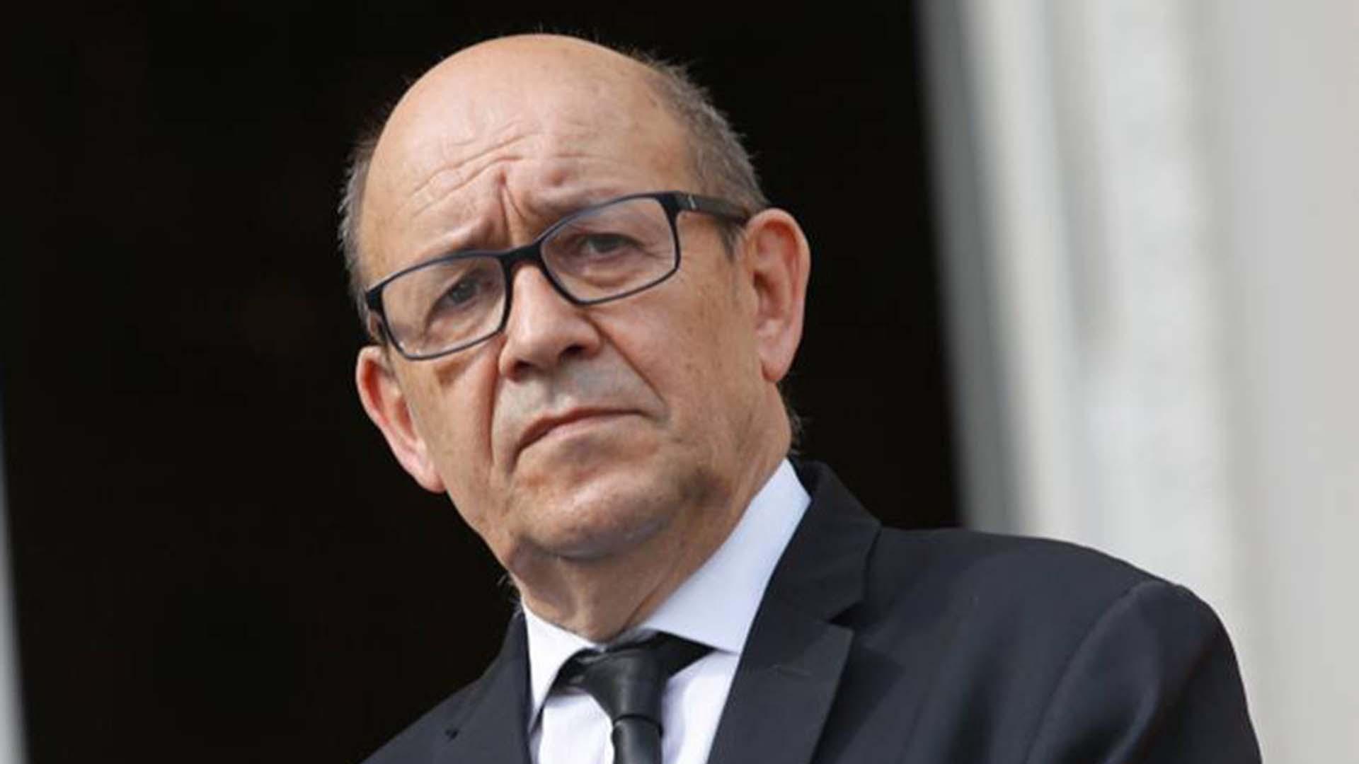 Jean-Yves Le Drian, canciller francés