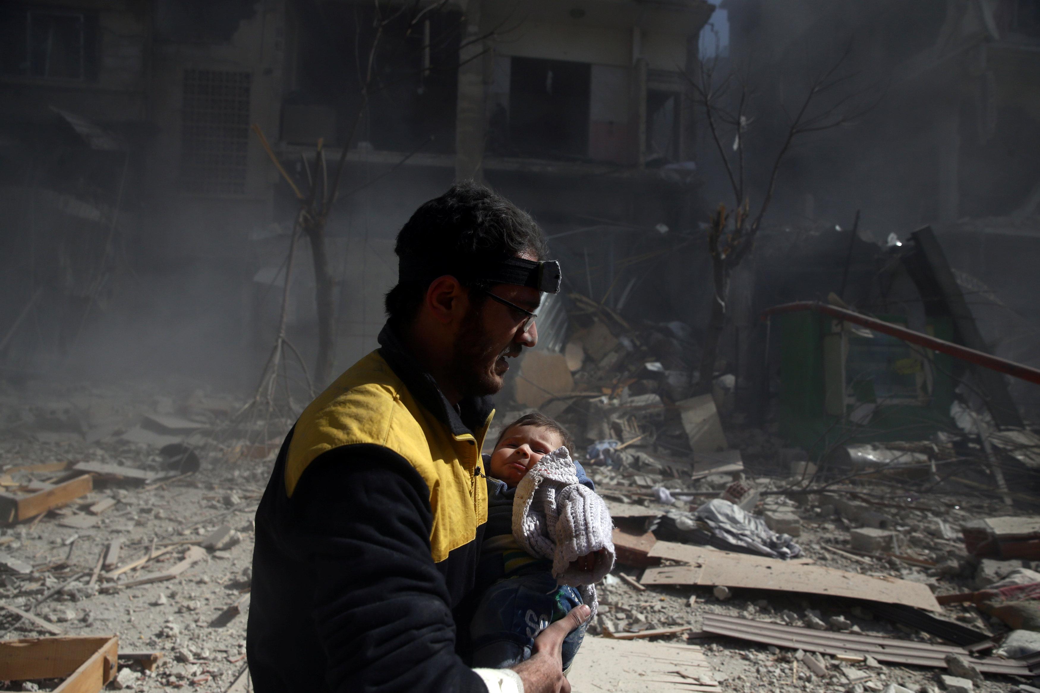 La ONU informó que hay 40 camiones listos para ser enviado con ayuda humanitaria(REUTERS)