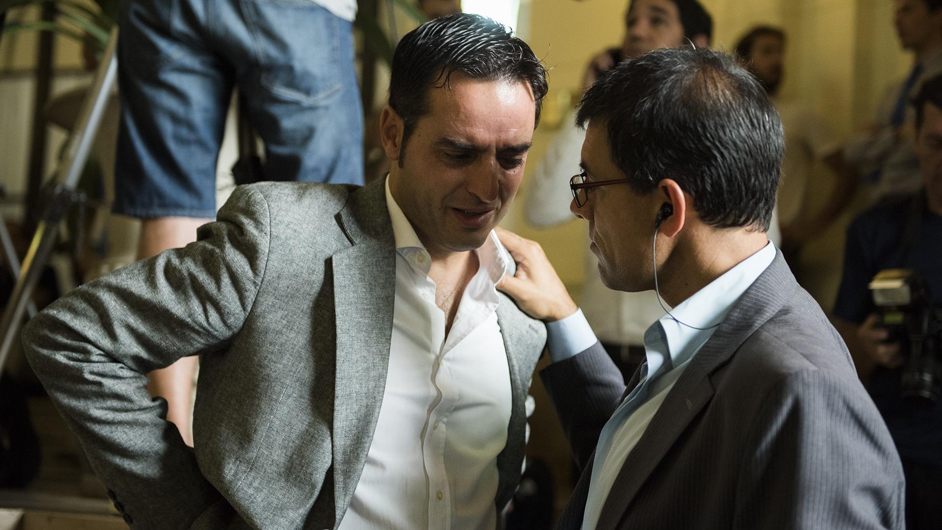 El periodista de policiales consolado por Marcos Barroca, quien también trabaja en la señal de cable