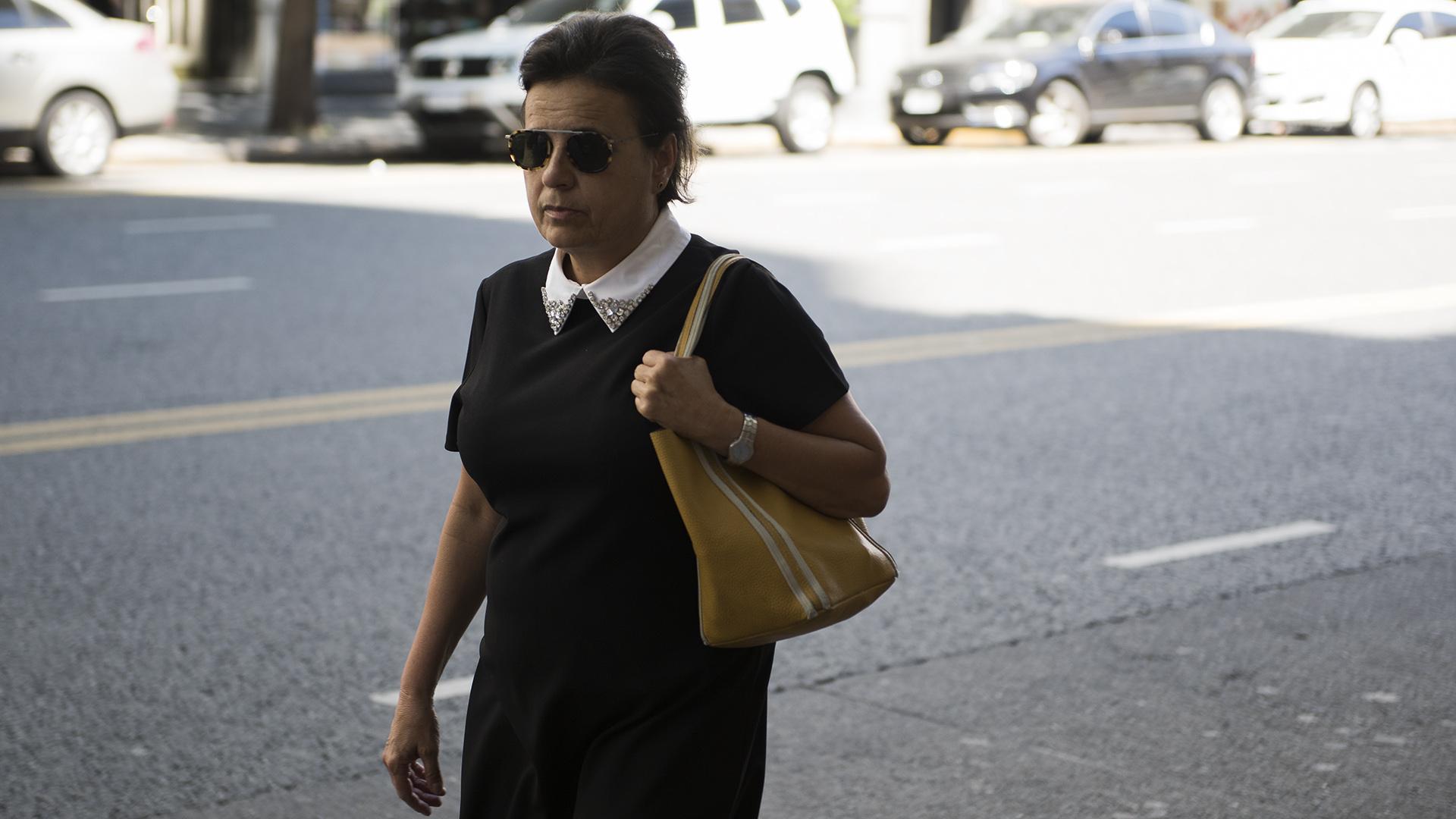 La periodista de Clarín Silvia Naishtat