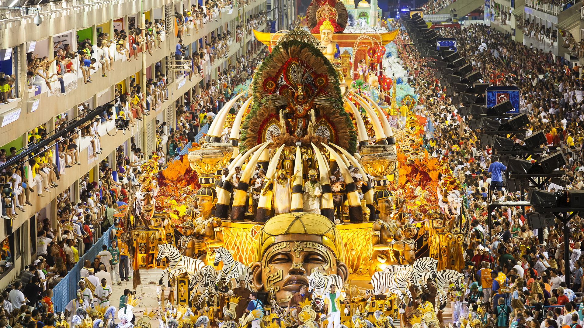 El Carnaval Carioca es uno de los más famosos del mundo