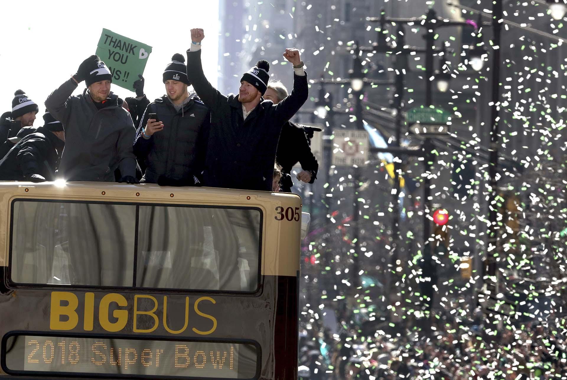 El gran sueño de los aficionados se vio cumplido cuando el domingo los Eagles derrotaron de manera sorpresiva por 41-33 a los Patriots de Nueva Inglaterra en el partido del Super Bowl que se disputó en el U.S. Bank Stadium de Minneapolis y pusieron fin a una espera de 58 años