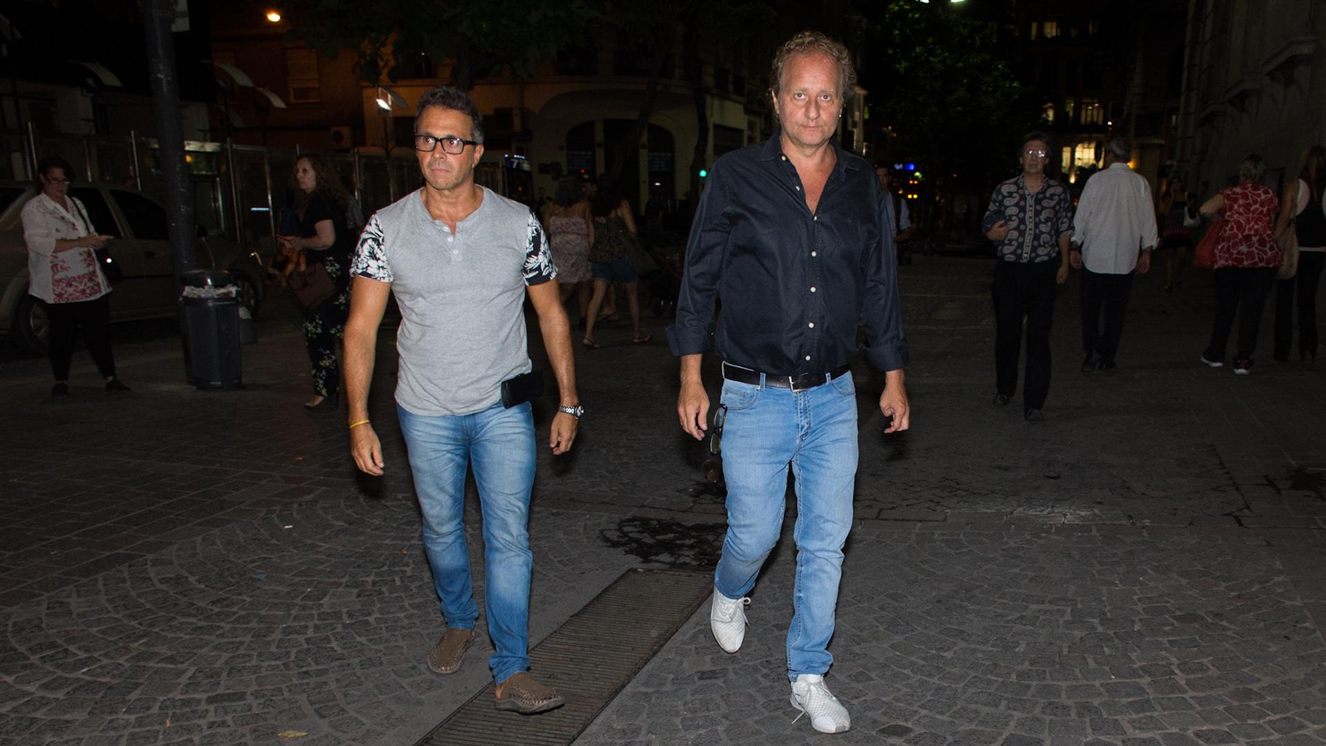 Sergio Lapegüe y Sergio Gendler