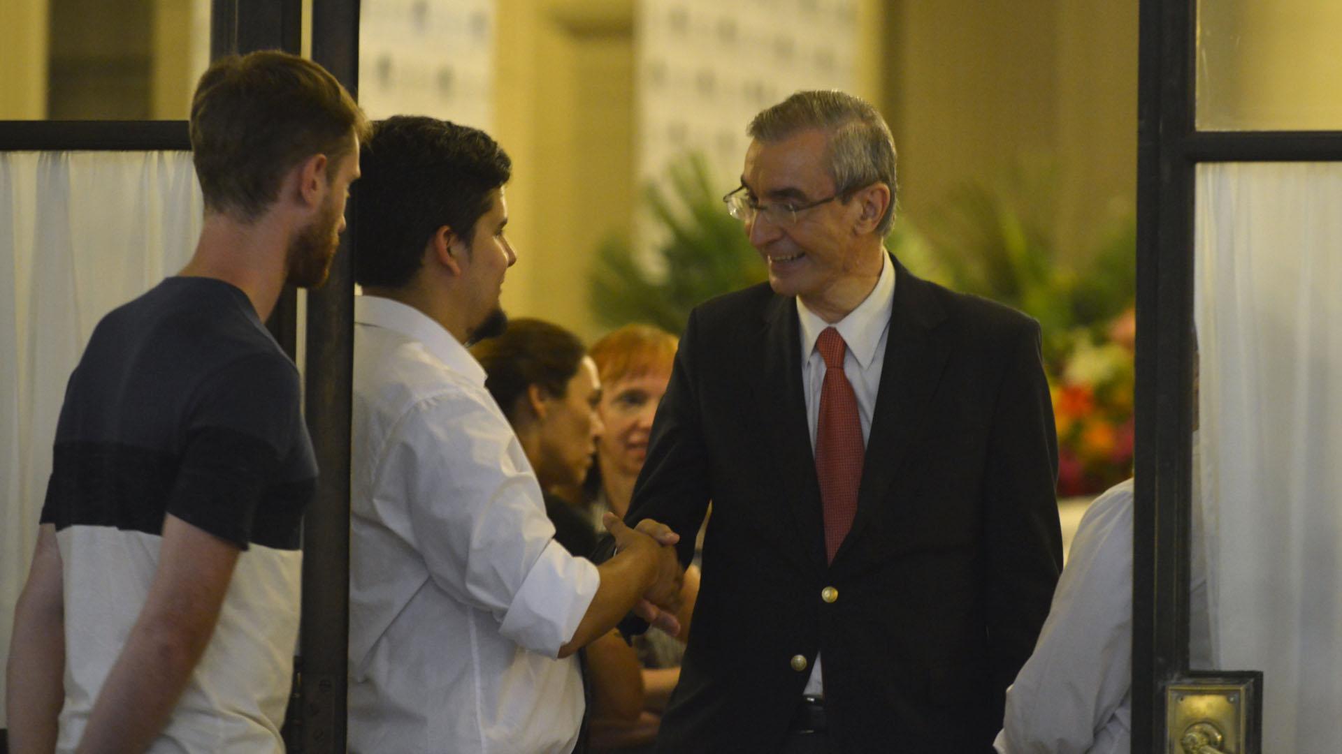 El periodista Nelson Castro