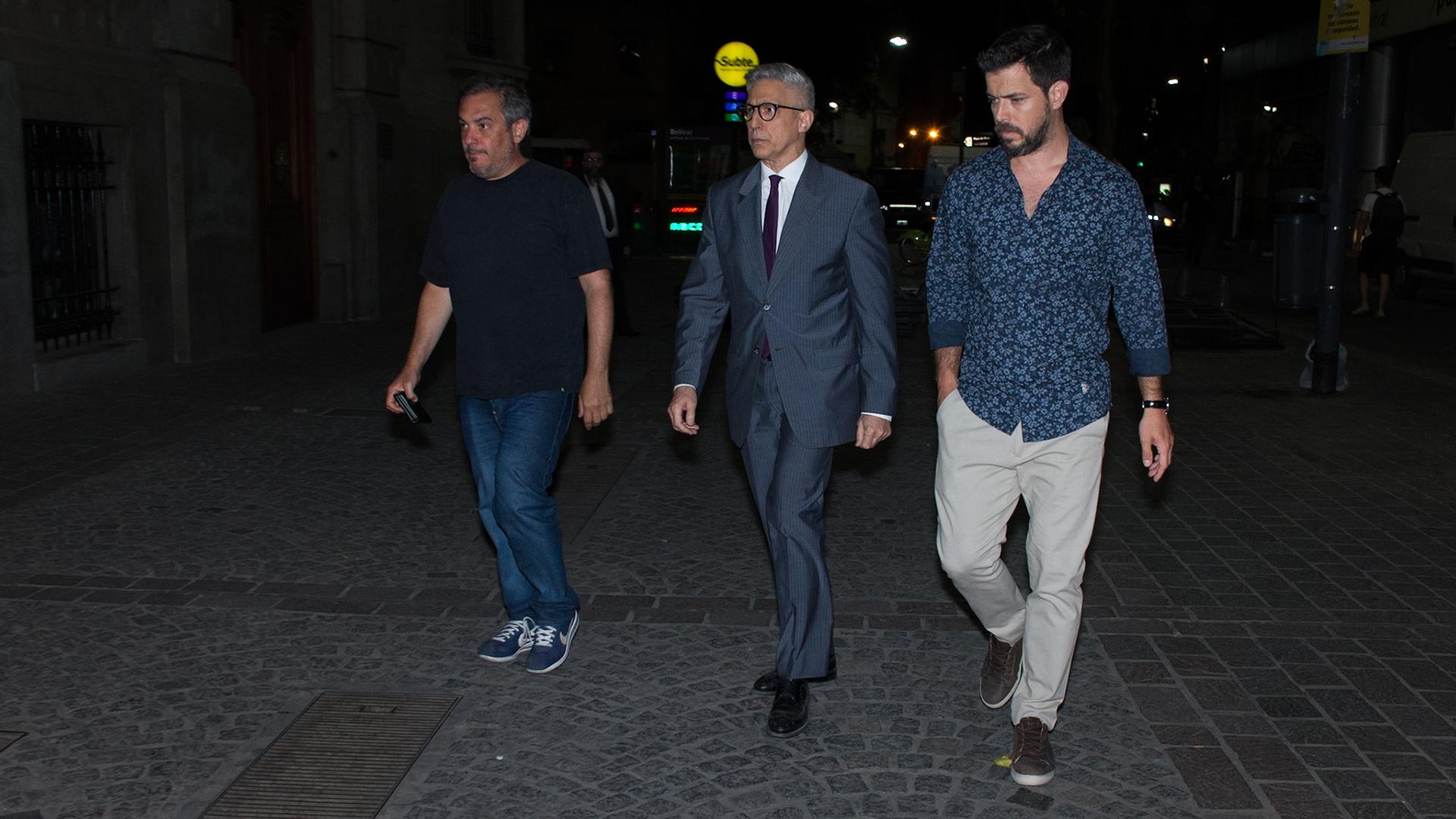 Los periodistas José Antonio Gil Vidal y José Bianco