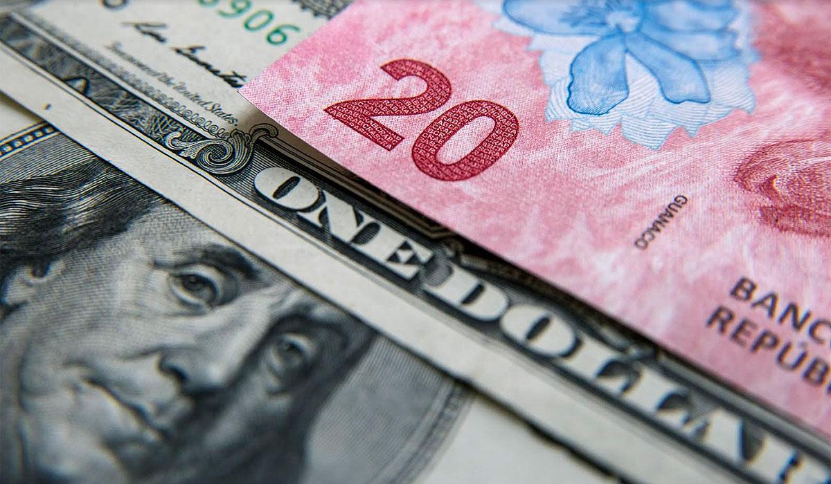 El dólar al público se sostiene sobre los 20 pesos. (Adrián Escandar)