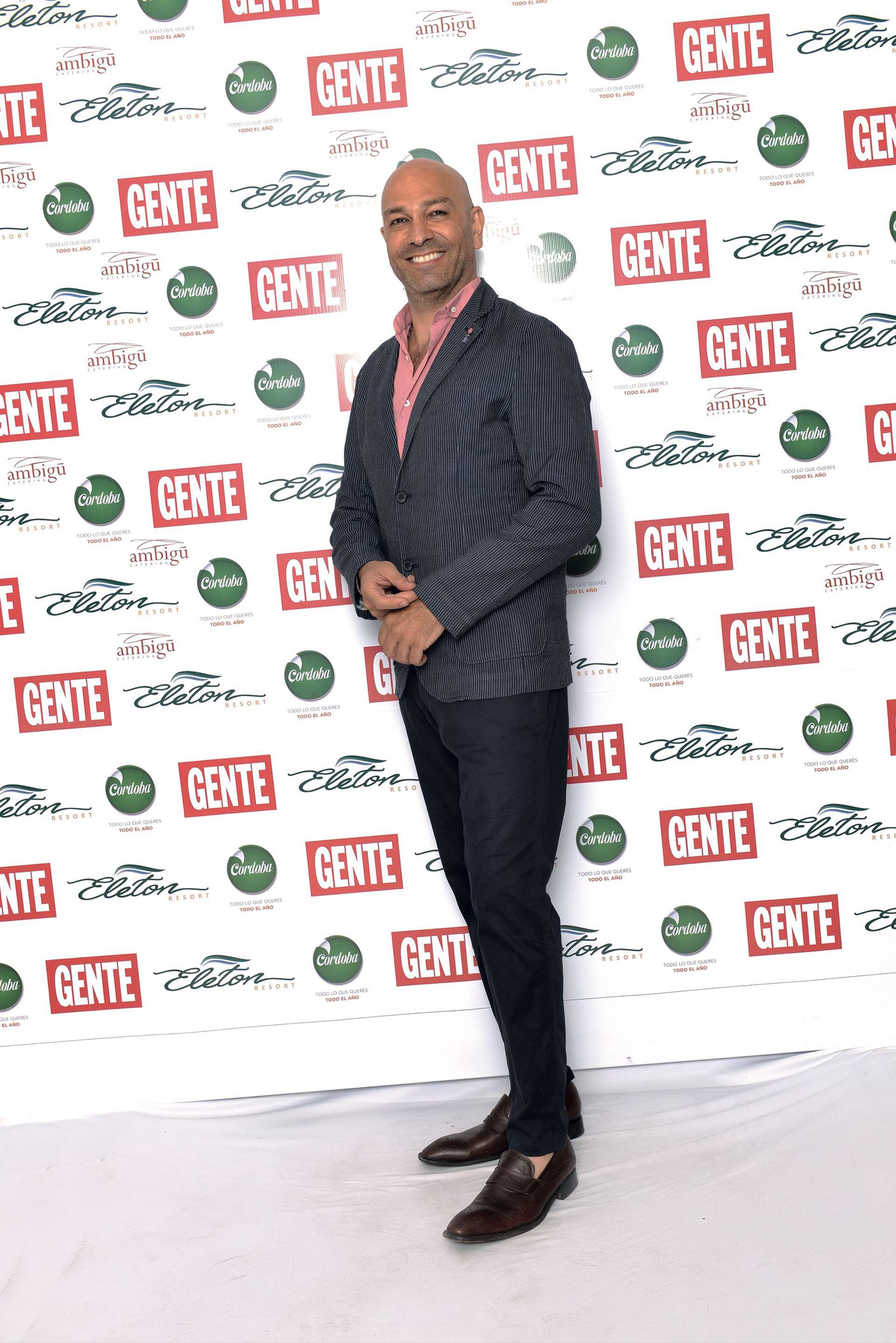 Freddy Villarreal, look propio. (Foto GENTE)