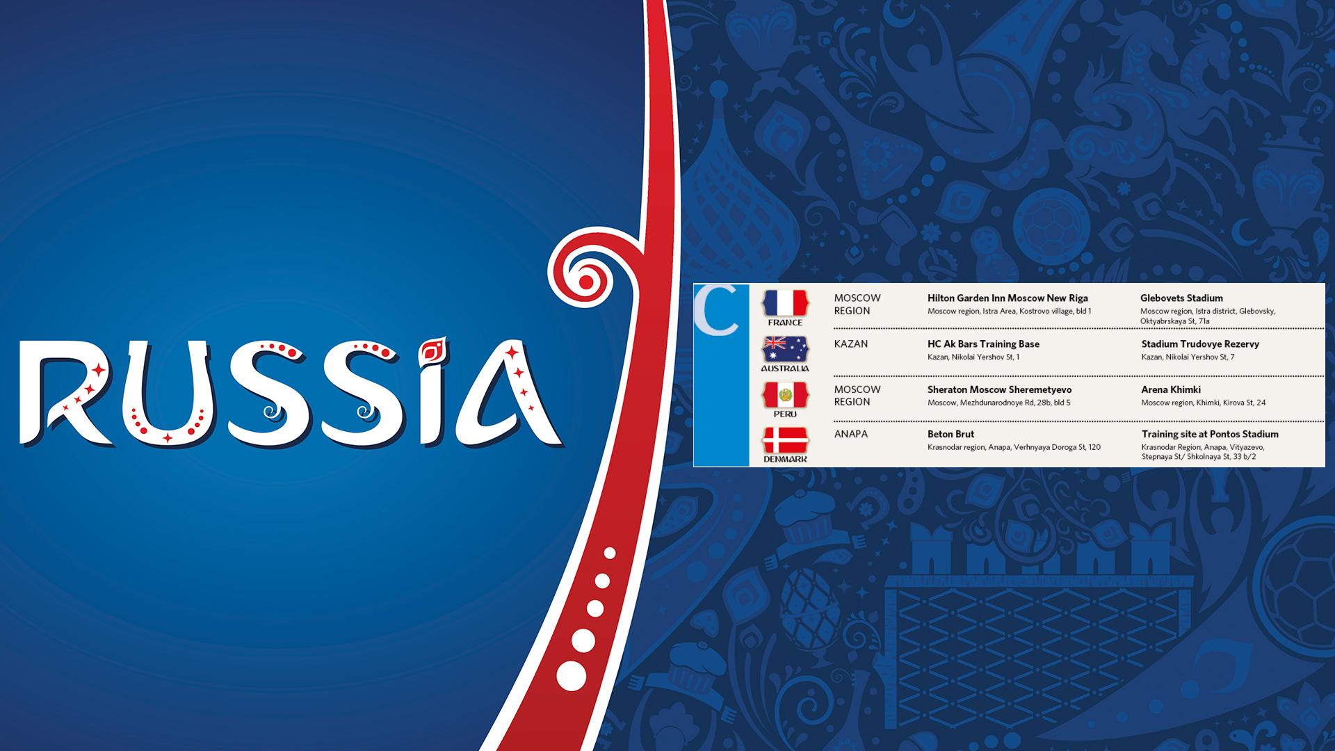 Perú comparte grupo con Francia, Australia y Dinamarca