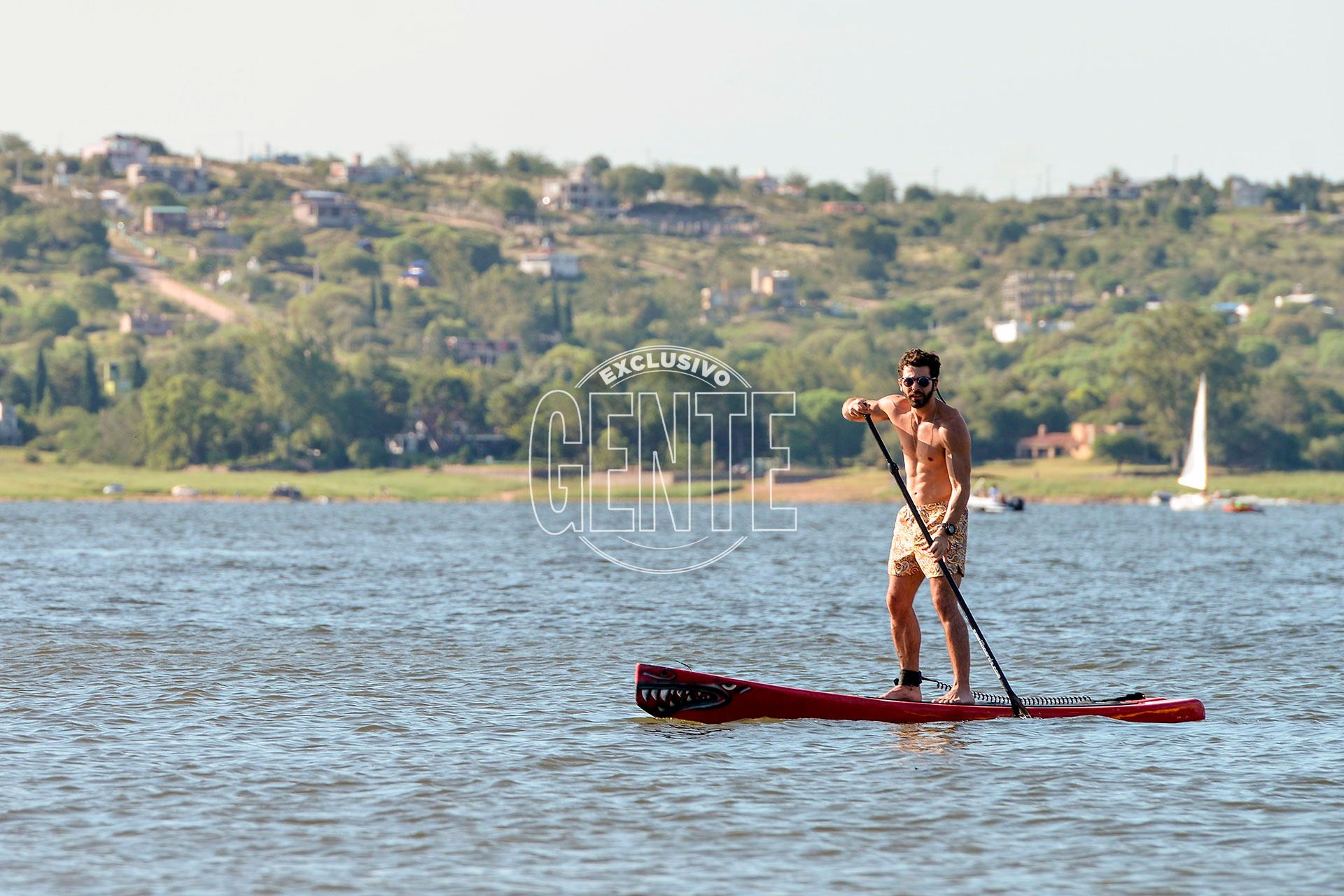 Soltero, disfruta de su primera temporada en Villa Carlos Paz y se quita el mote de mujeriego. (Foto Fabián Uset/GENTE)