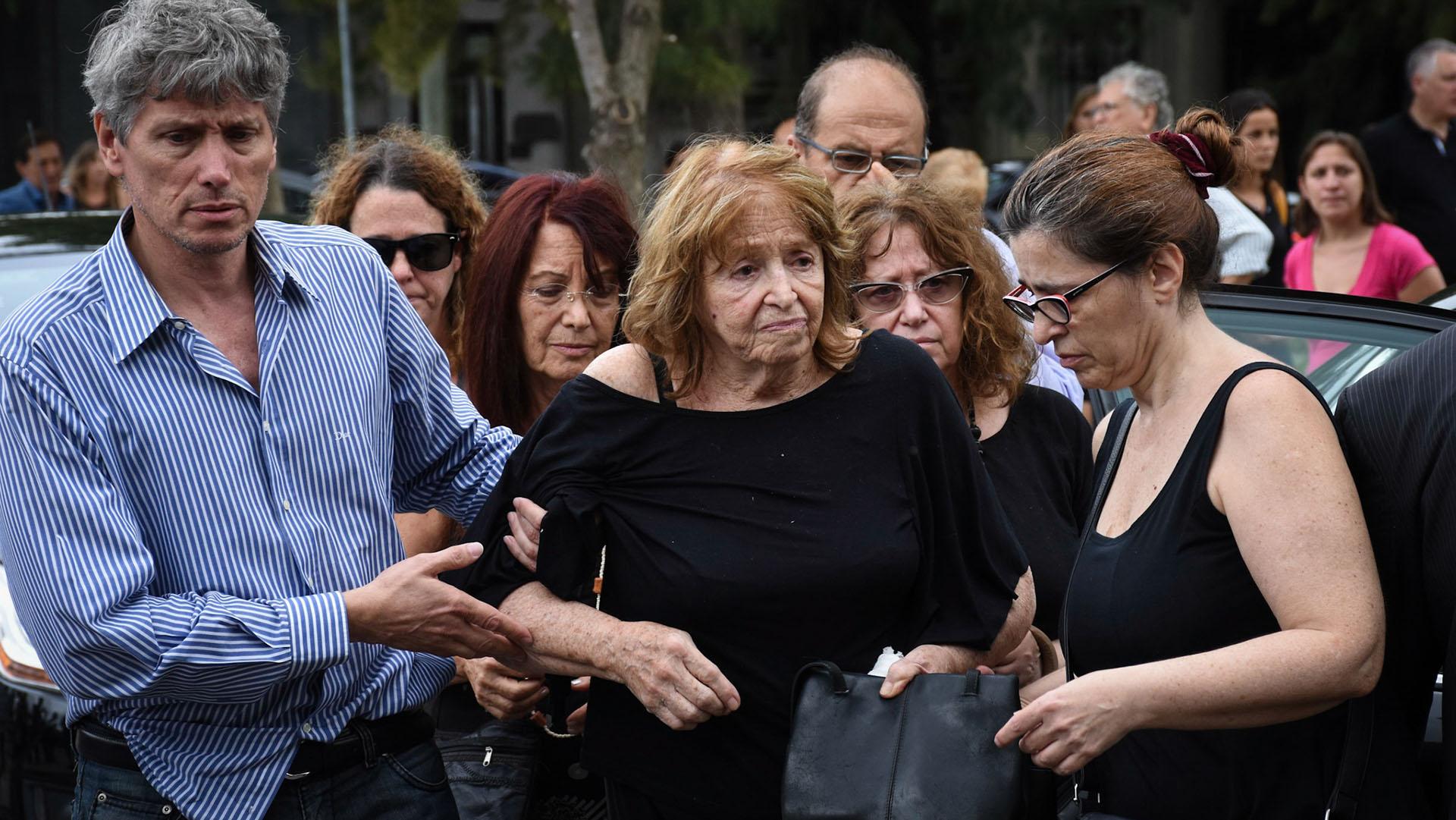 Marta Lea Volpin, la madre de la periodista fallecida