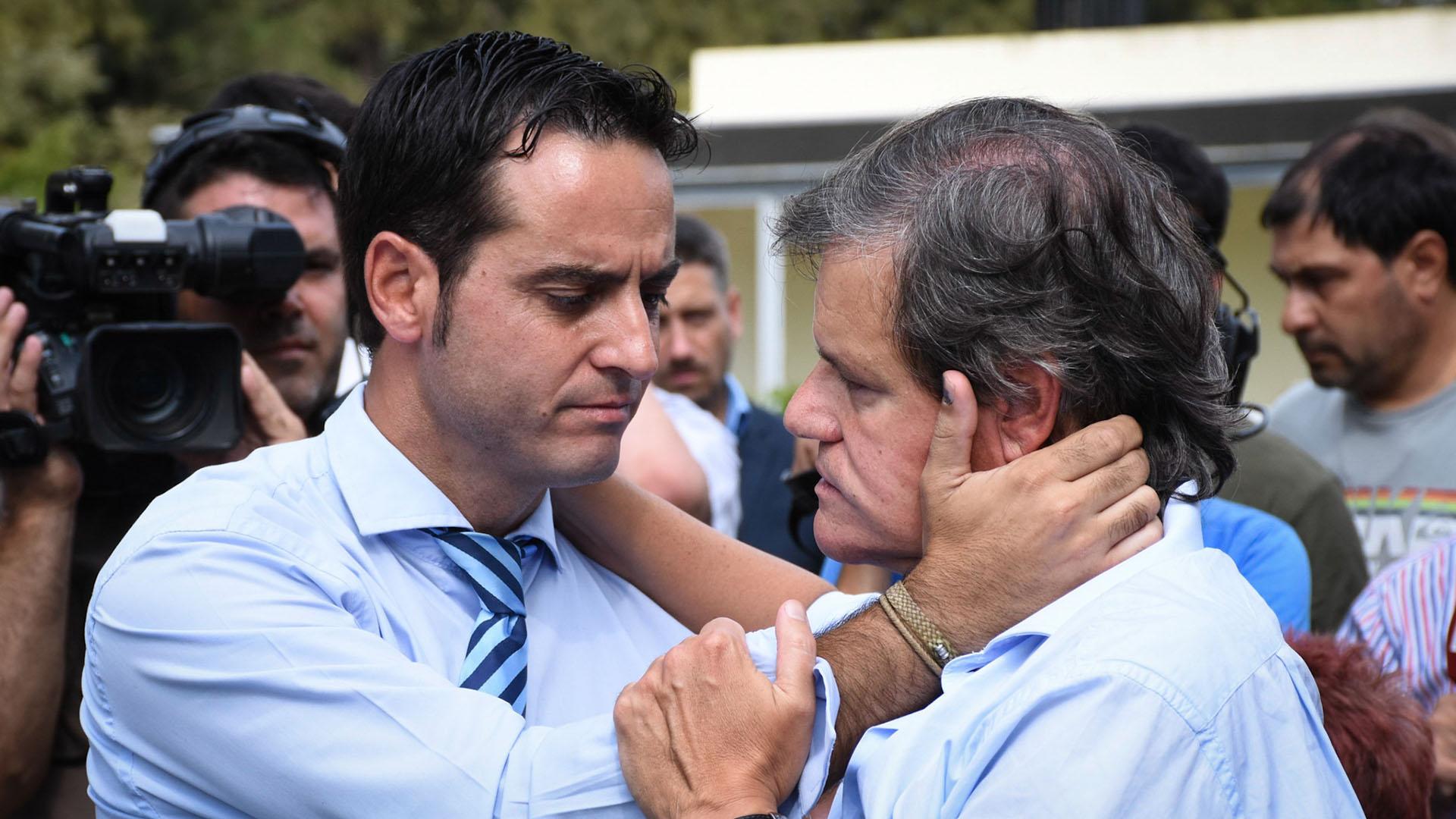 Ignacio González Prieto le da las condolencias a Quique Sacco
