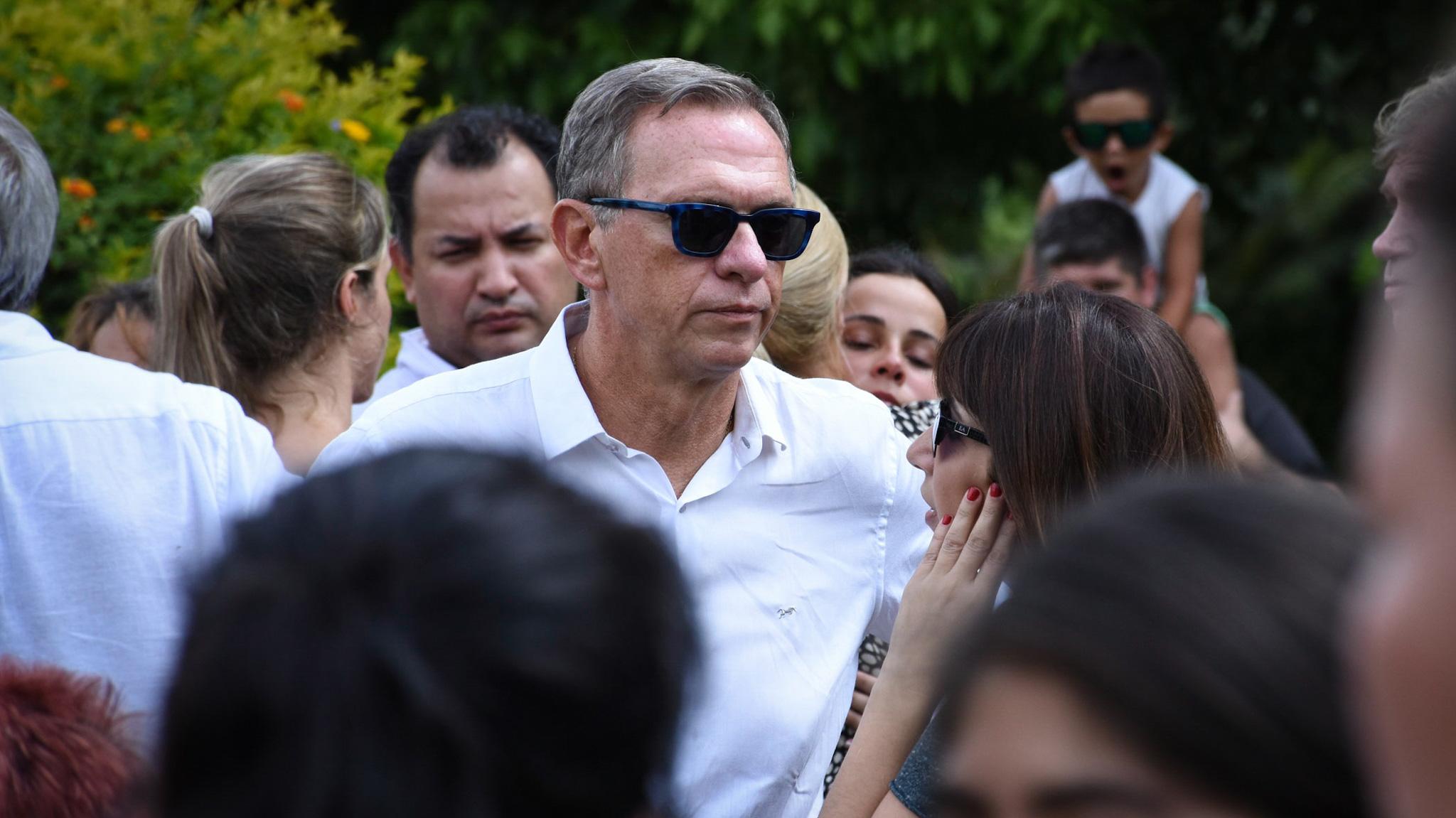Marcelo Bonelli, compañero de Pérez Volpin durante muchos años