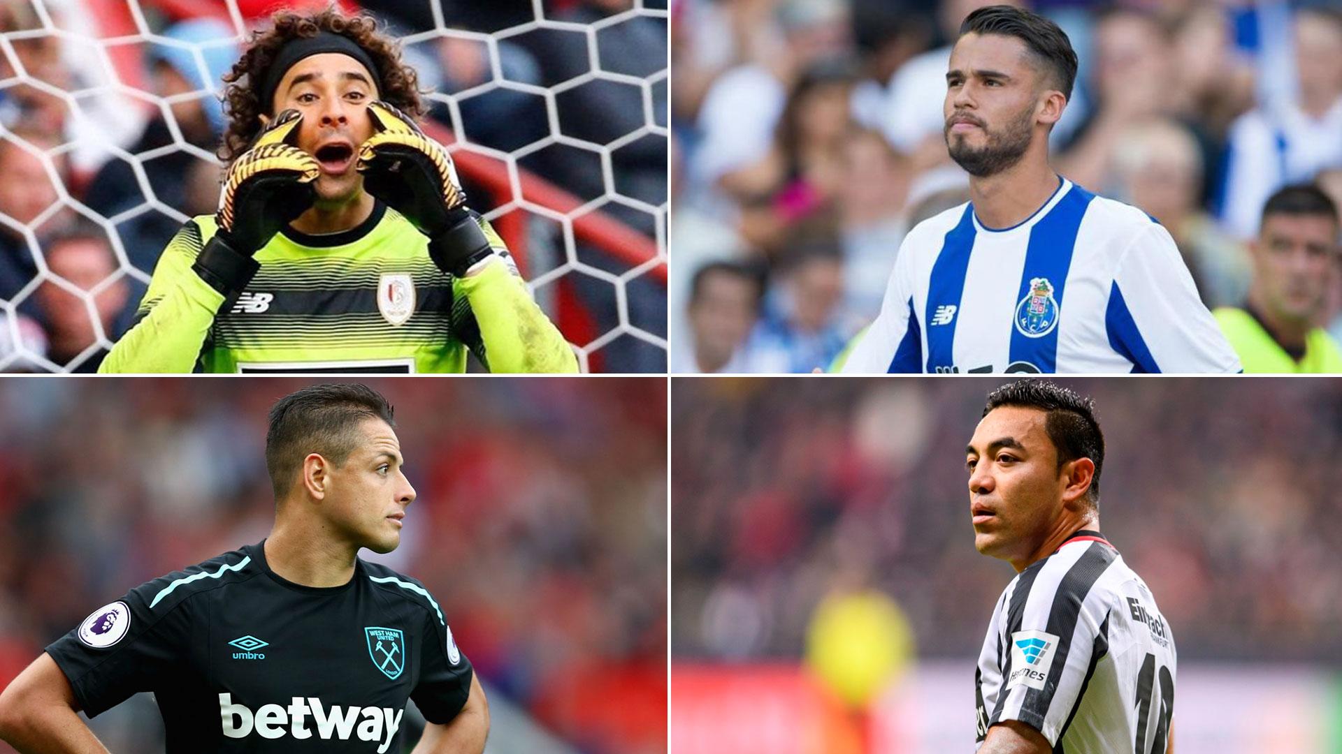 'Memo' Ochoa, Diego Reyes, 'Chicharito' Hernández y Marco Fabián son algunas de las figuras de la selección de México que pelean por llegar bien al Mundial