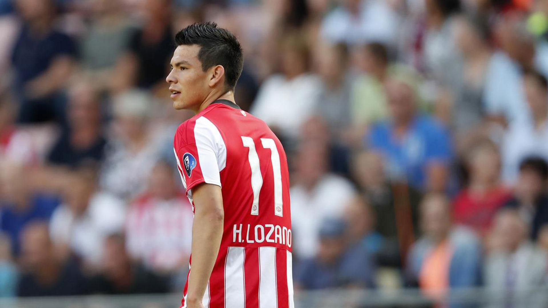 Hirving Lozano, jugador del PSV Eindhoven, es uno de los mexicanos de mejor presente