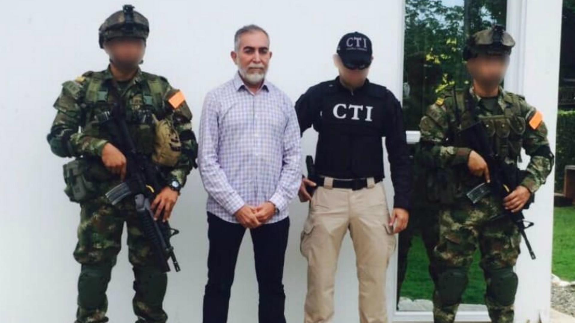 El narco José Bayron Piedrahíta.