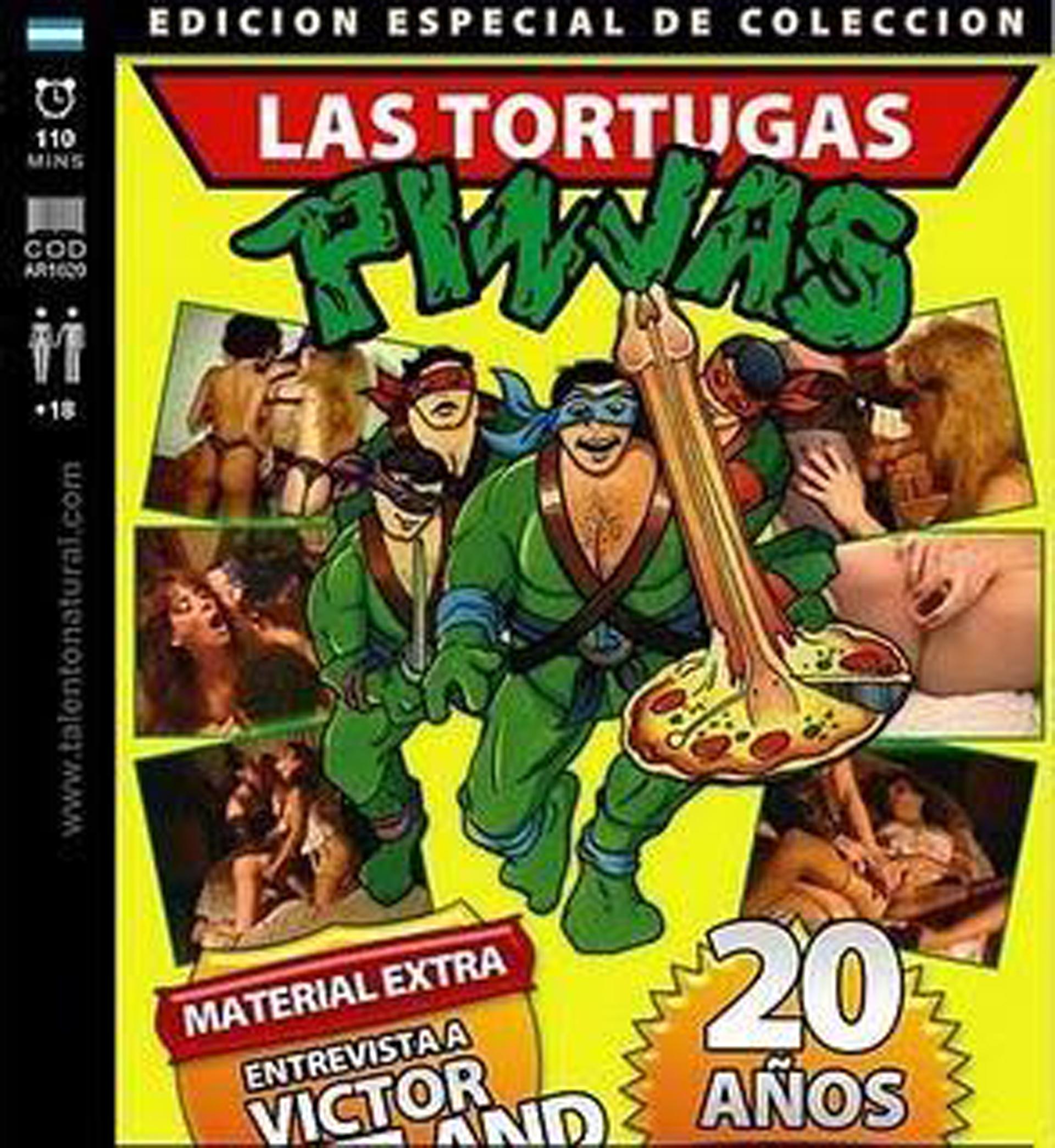"""""""Las Tortugas Pinjas"""" es el gran éxito porno de Maytland"""