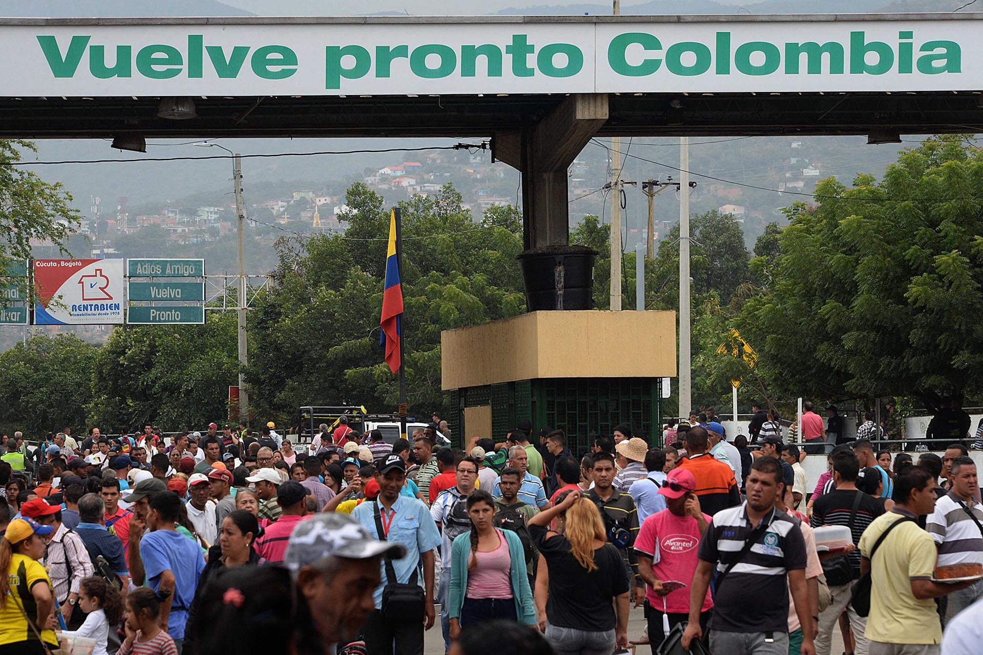 La situación ha generado un problema social en Colombia. (AFP)