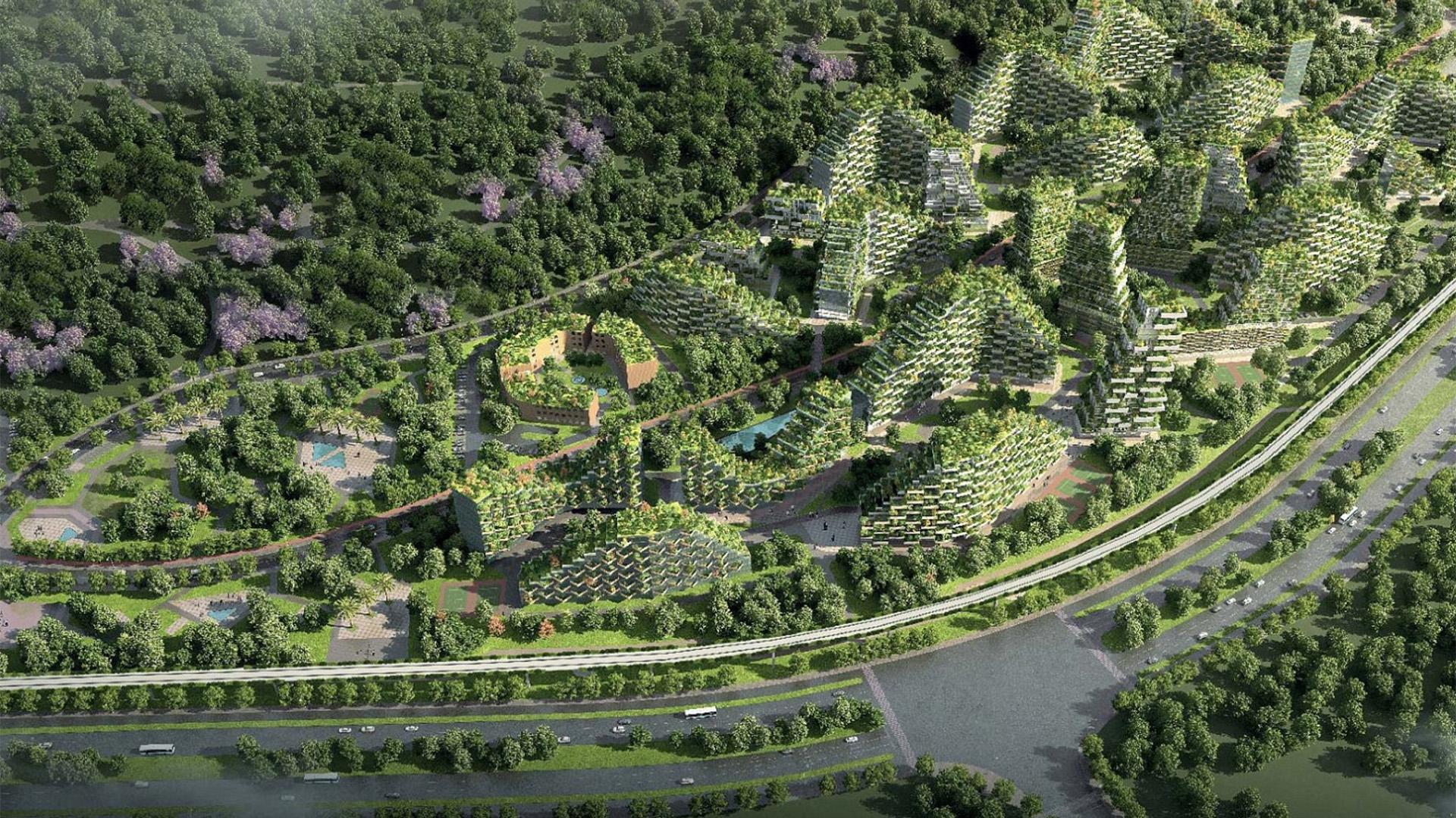 Así será la primera ciudad forestal del mundo que está construyendo ...