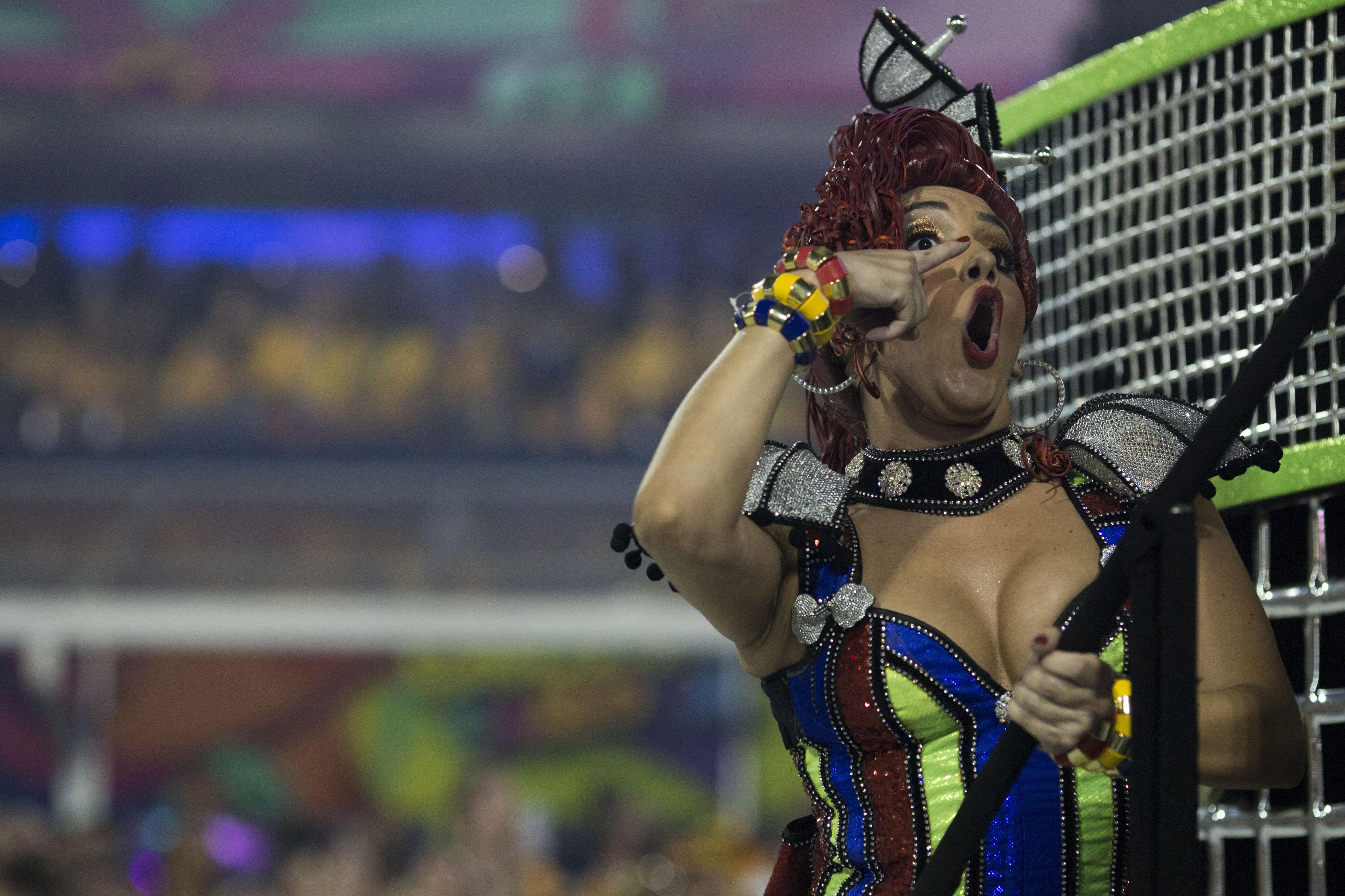 BRASIL: Hermosas Fotos del carnaval  2018  /  Primera Parte