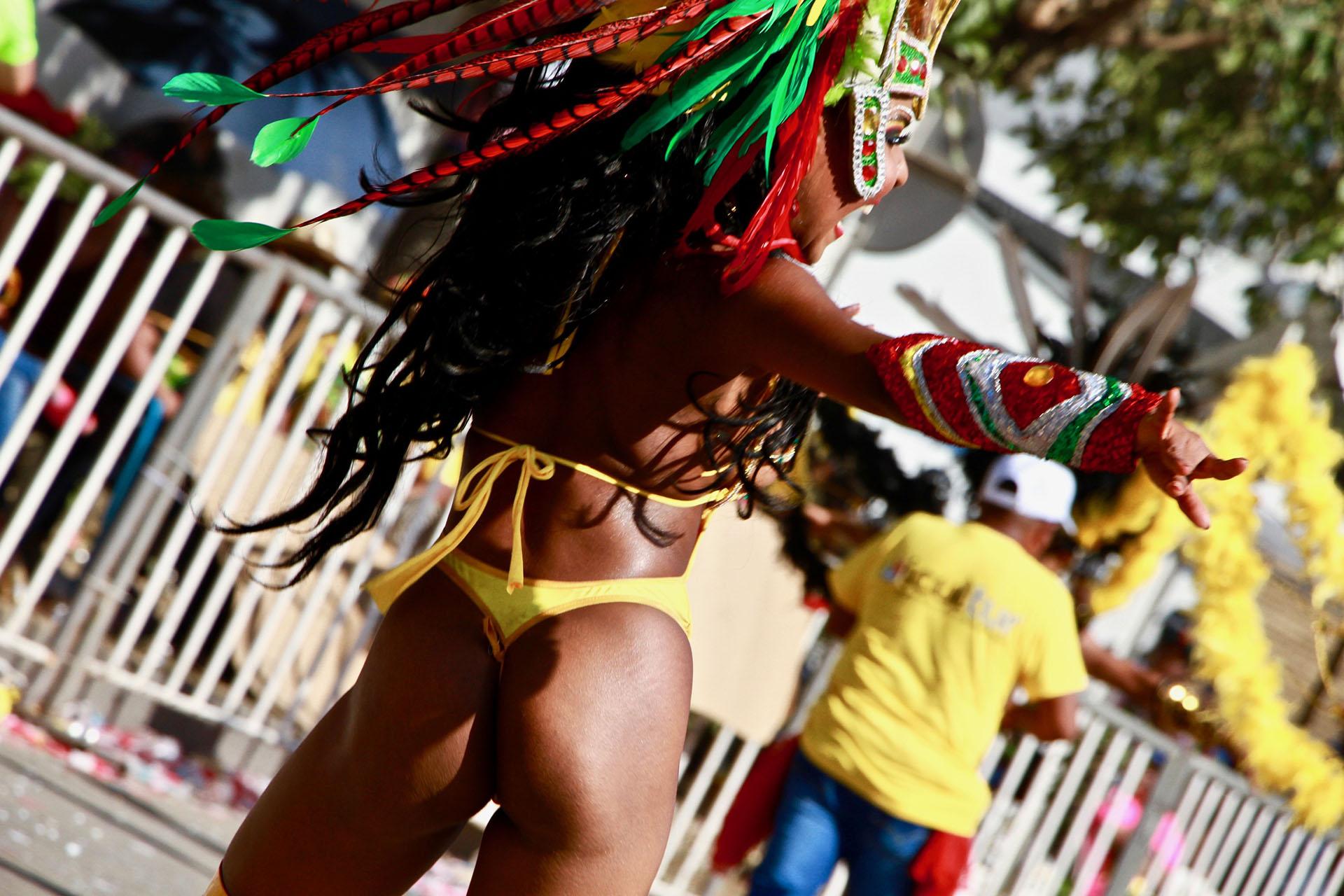 La herencia africana fue uno de los condimentos más fuertes de la Batalla de Flores