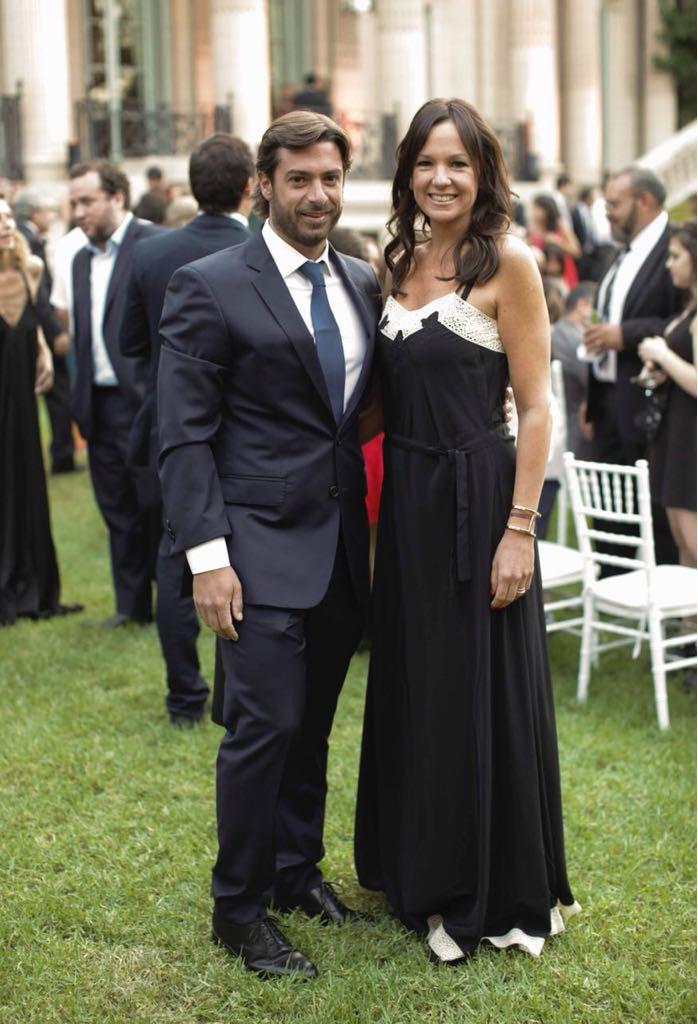 El jefe de Campel, el jefe de Gabinete de Ministros de la Provincia de Buenos Aires Federico Salvai, y su esposa, la ministra de Desarollo Social Carolina Stanley