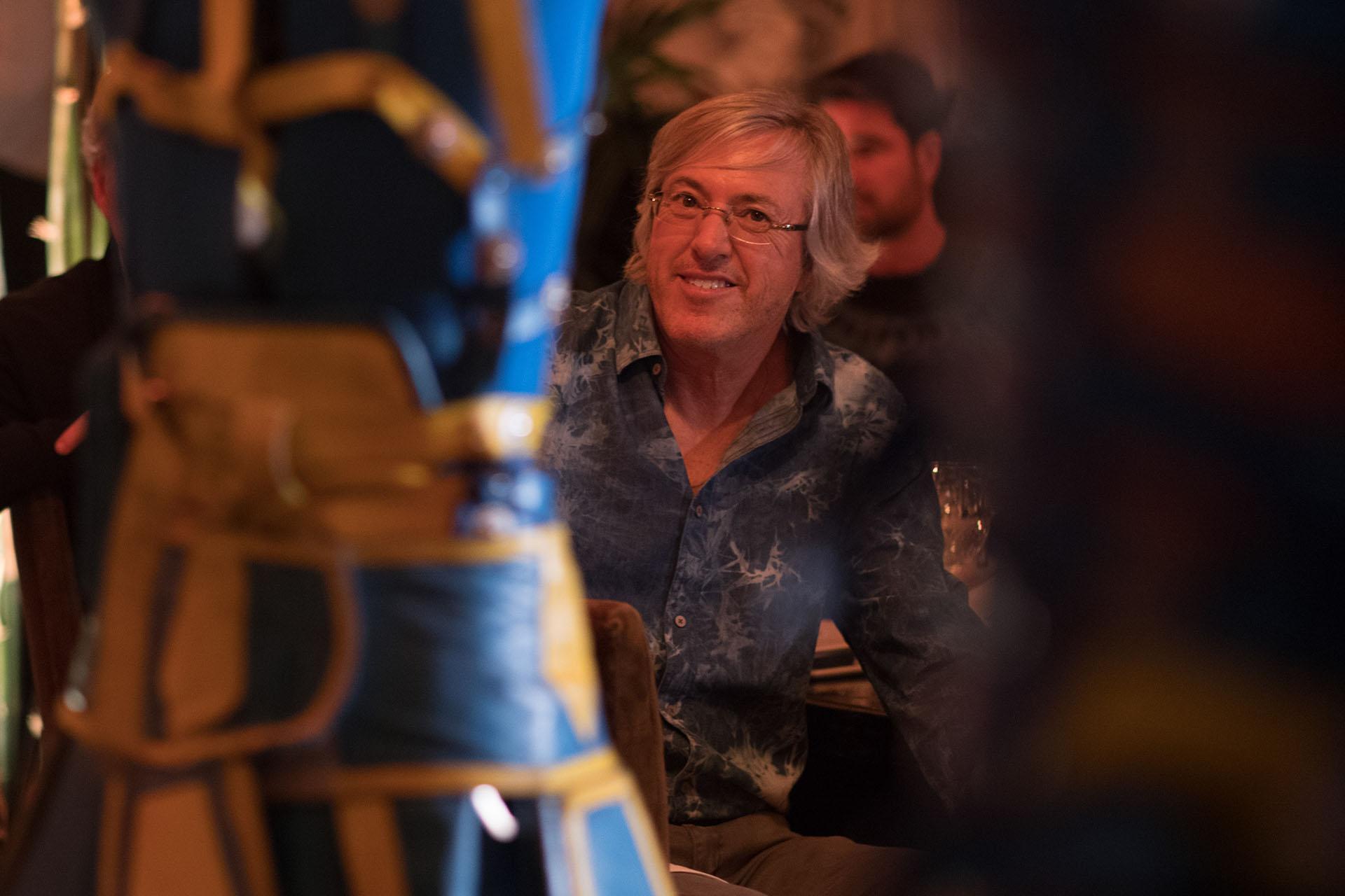 En la cena en el restaurante Bo Zin los invitados presenciaron distintos shows temáticos