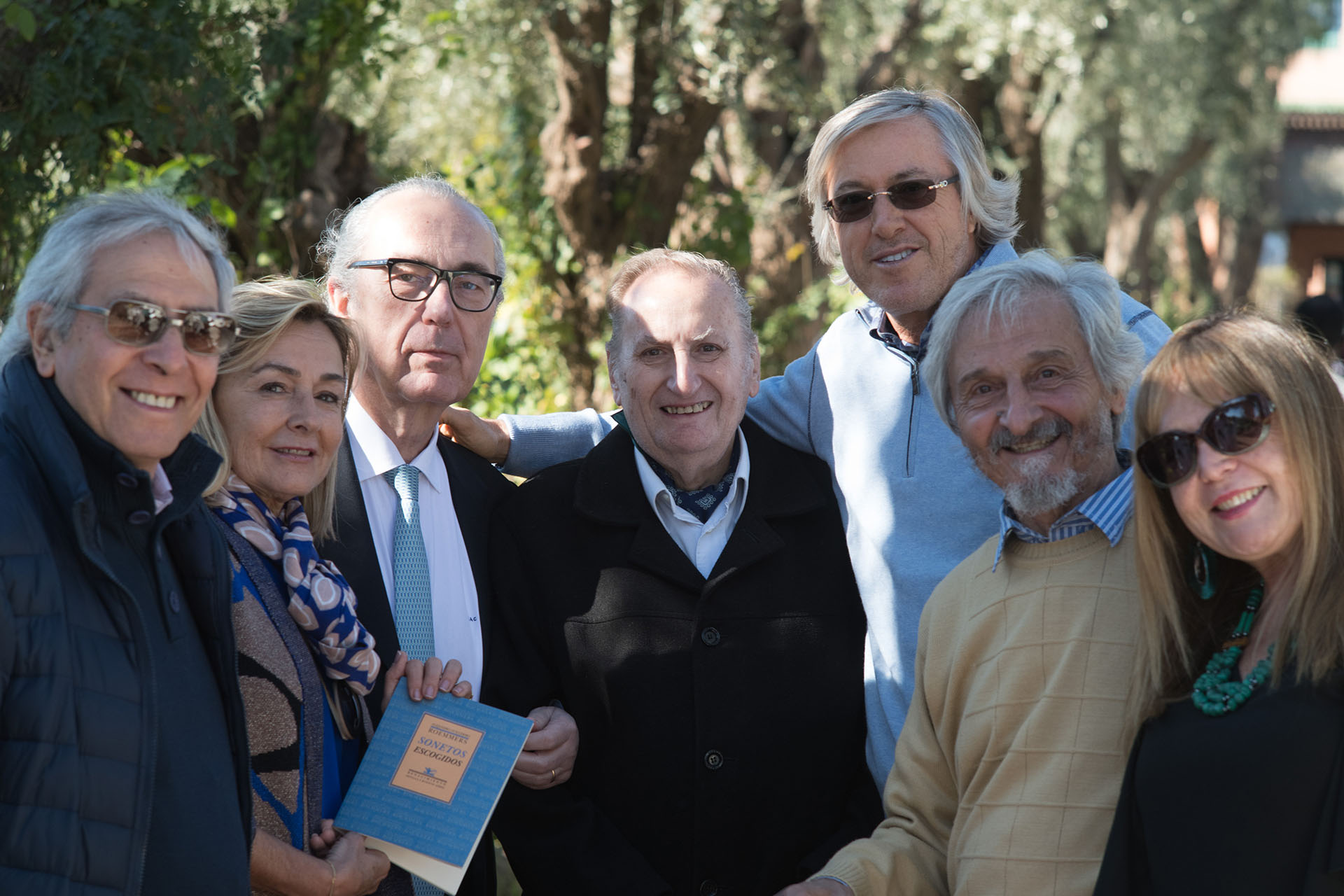 Norbereto Warlean, Alicia Mariño, Luis Alberto de Cuenca y Prado, Antonio Requeni, Alejandro Roemmers, Roberto Alifano y Marilis Luna Dávila