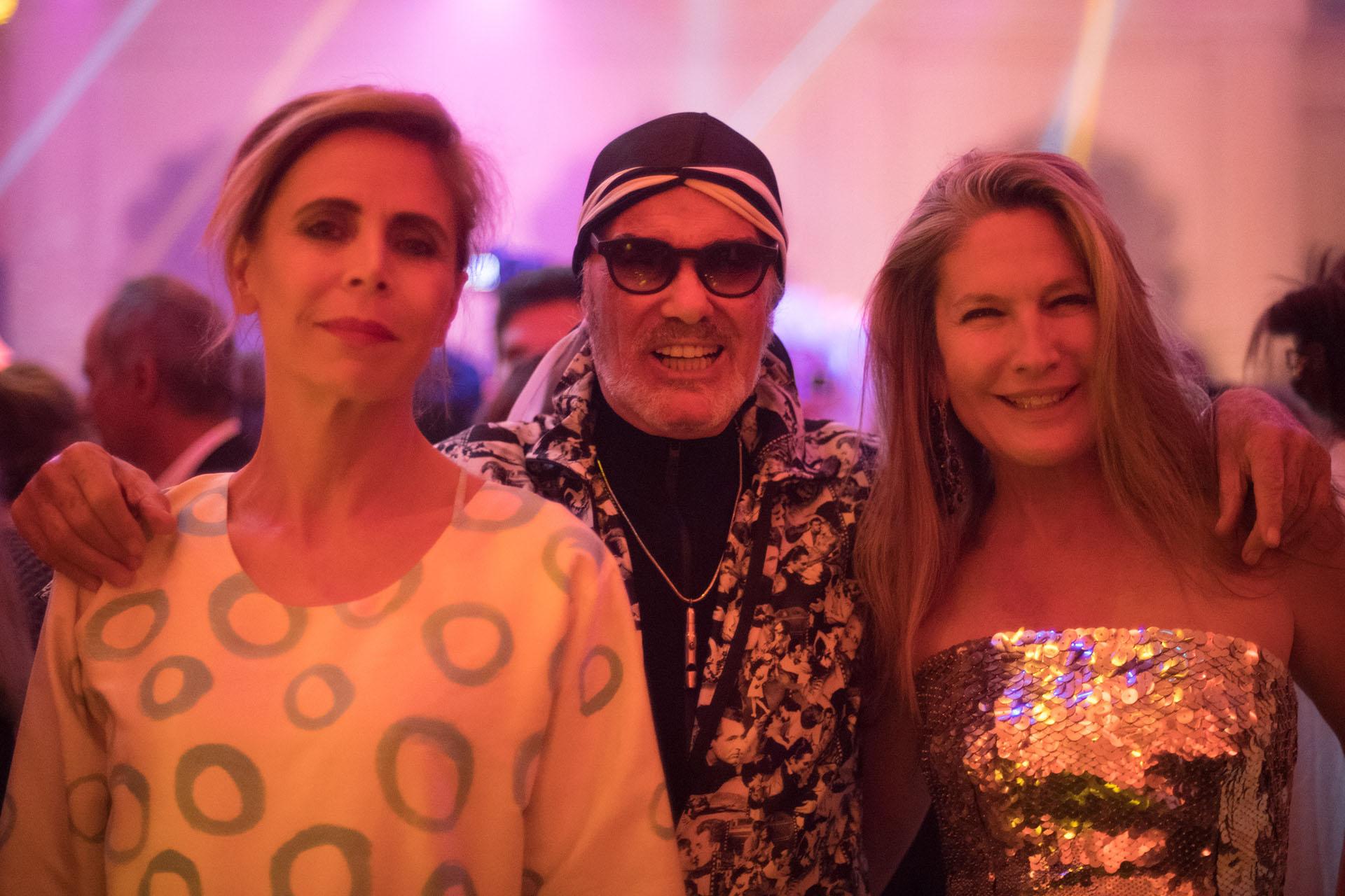 Agatha Ruiza de la Prada, Gino Bogani y Ana Rusconi