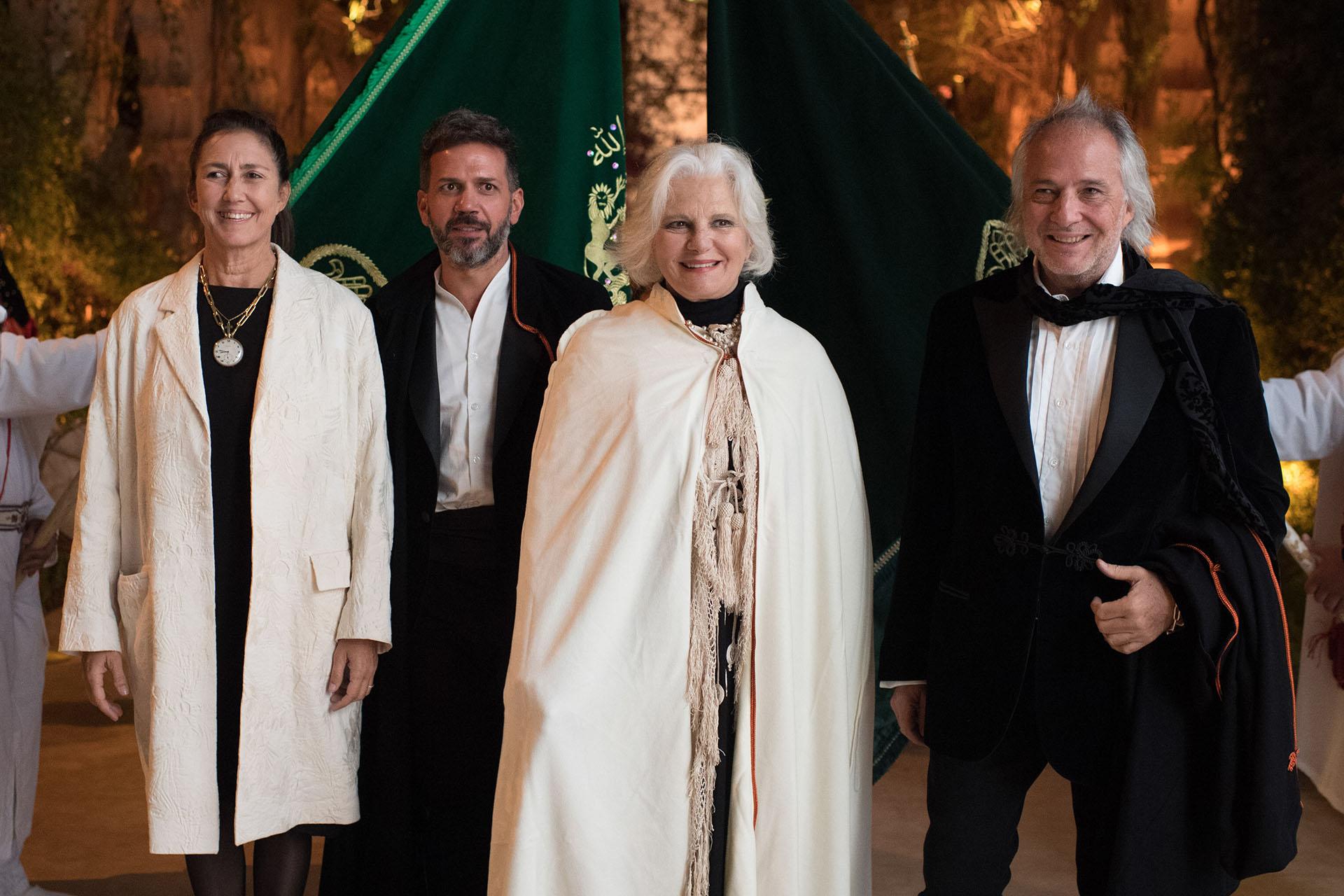 Laura Orcoyen, Sebastian Sabas, Gloria Cesar y Pablo Sánchez Elía