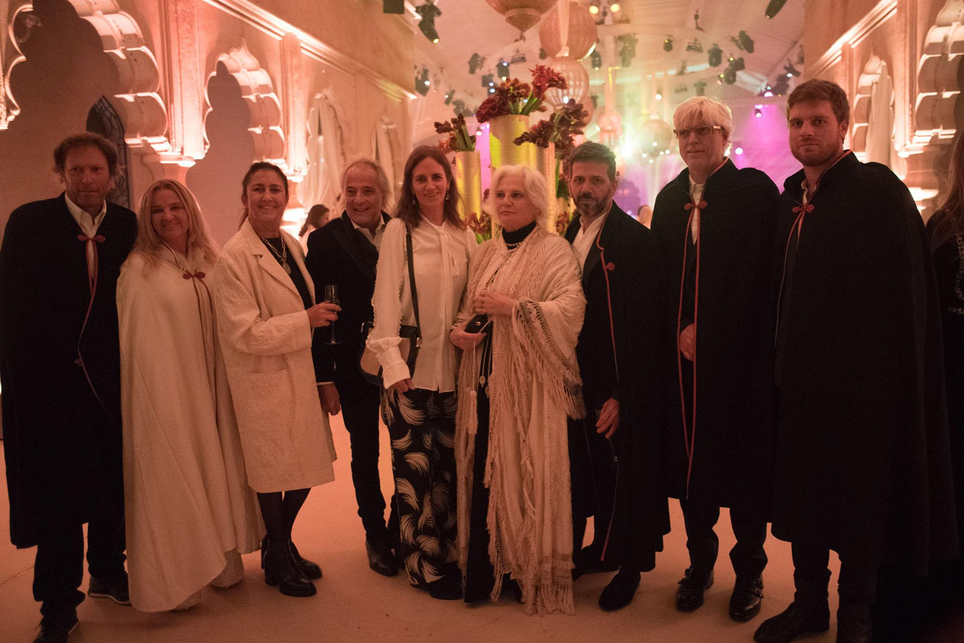 Pablo Sánchez Elia, Cecilia Sartorius, Gloria Cesar, Sebastian Sabas, Freddy Green y Nora de Liechtenstein