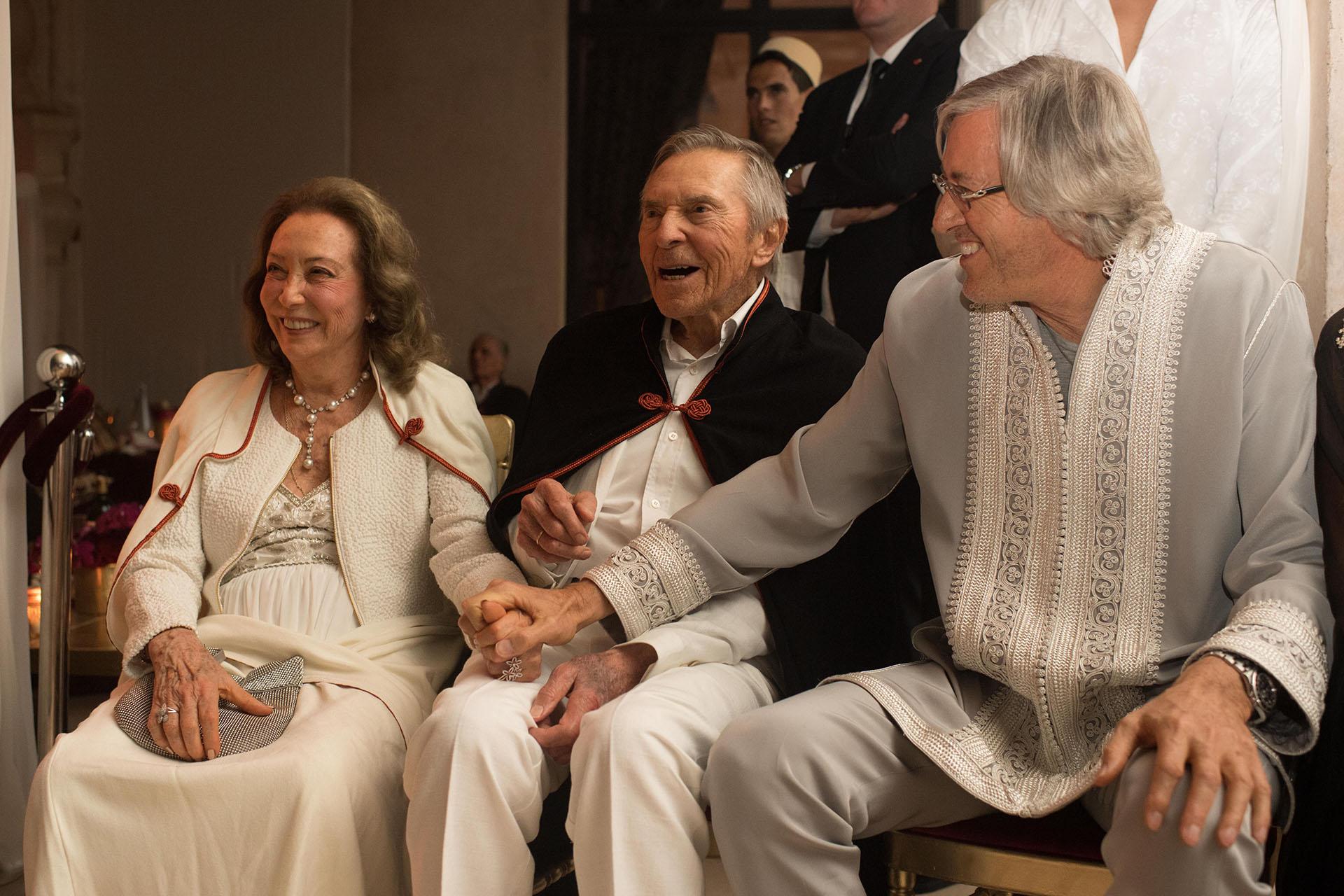"""Los padres de Alejandro Roemmers, Alberto W. H. Roemmers y Hebe Colman. El empresario hizo una mención especial para ellos y para su familia: """"Son una bendición"""""""