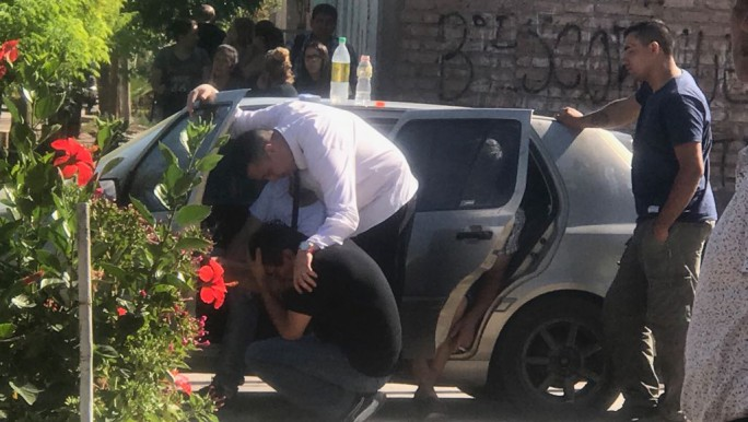 Brutal triple homicidio en Guaymallén (Foto: MdzOnline)
