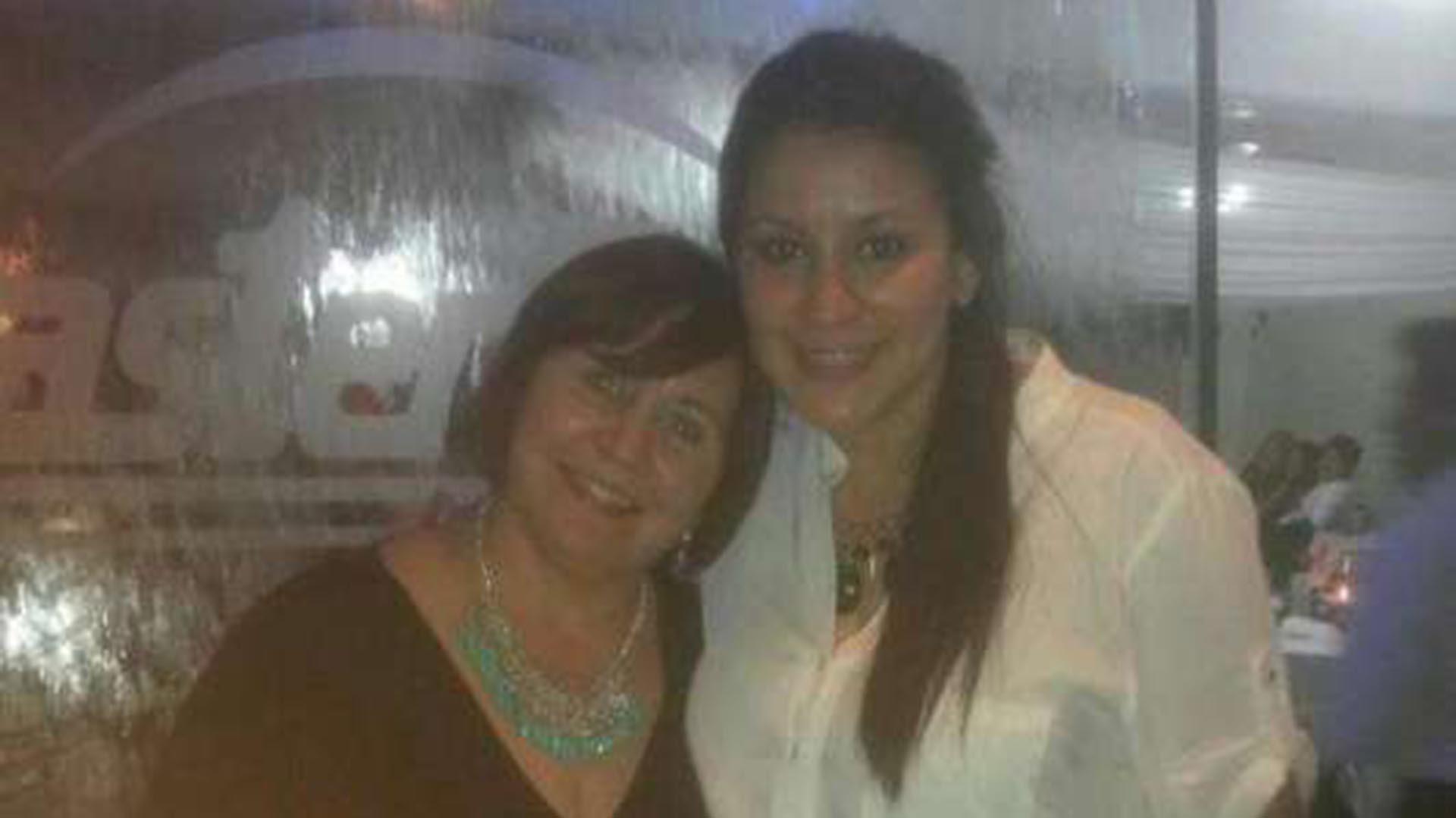 Mónica y Mayra. Fueron asesinadas esta madrugada en Guaymallén.