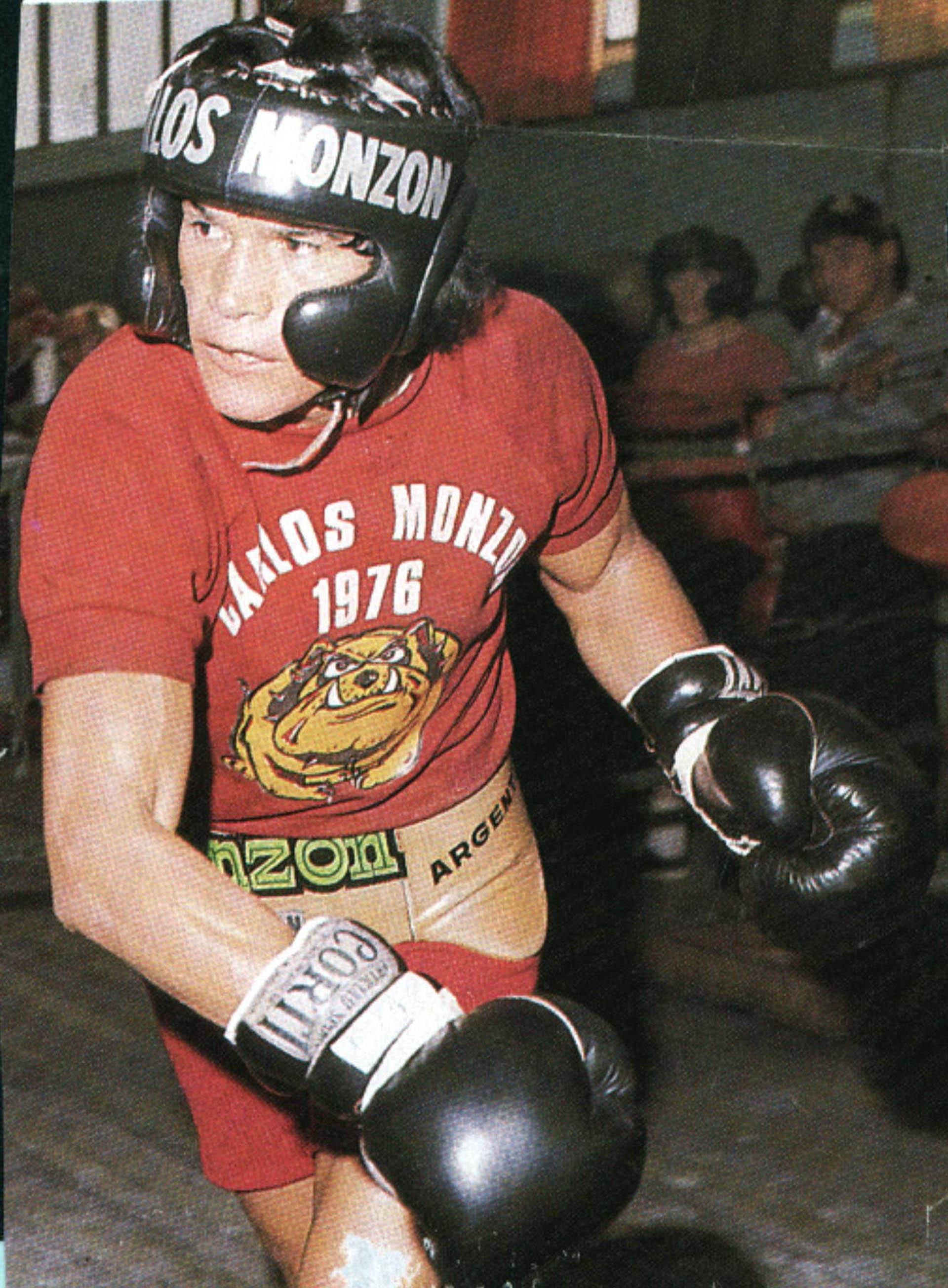 Monzón fue campeón mundial de los medianos entre 1970 y 1977 (NA)
