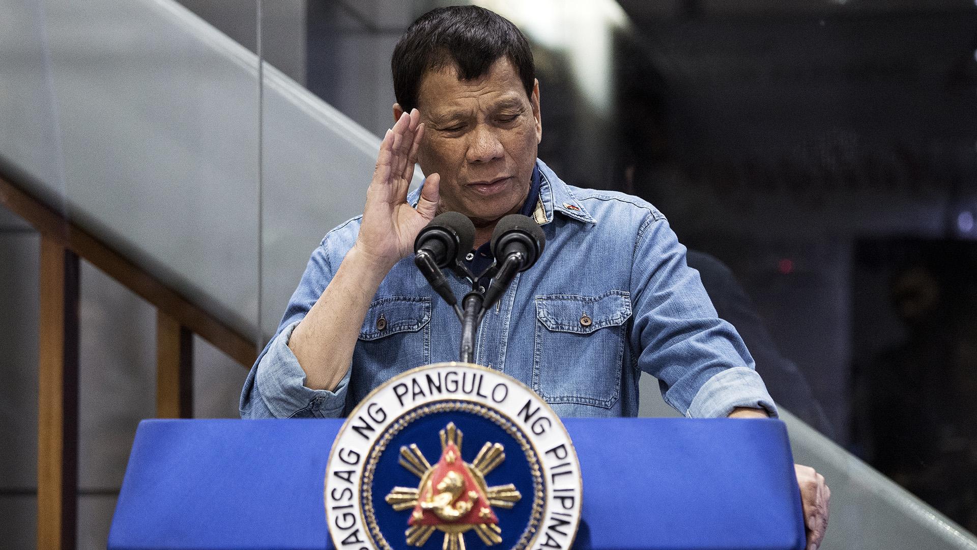 Rodrigo Duterte, presidente de Filipinas (AFP)