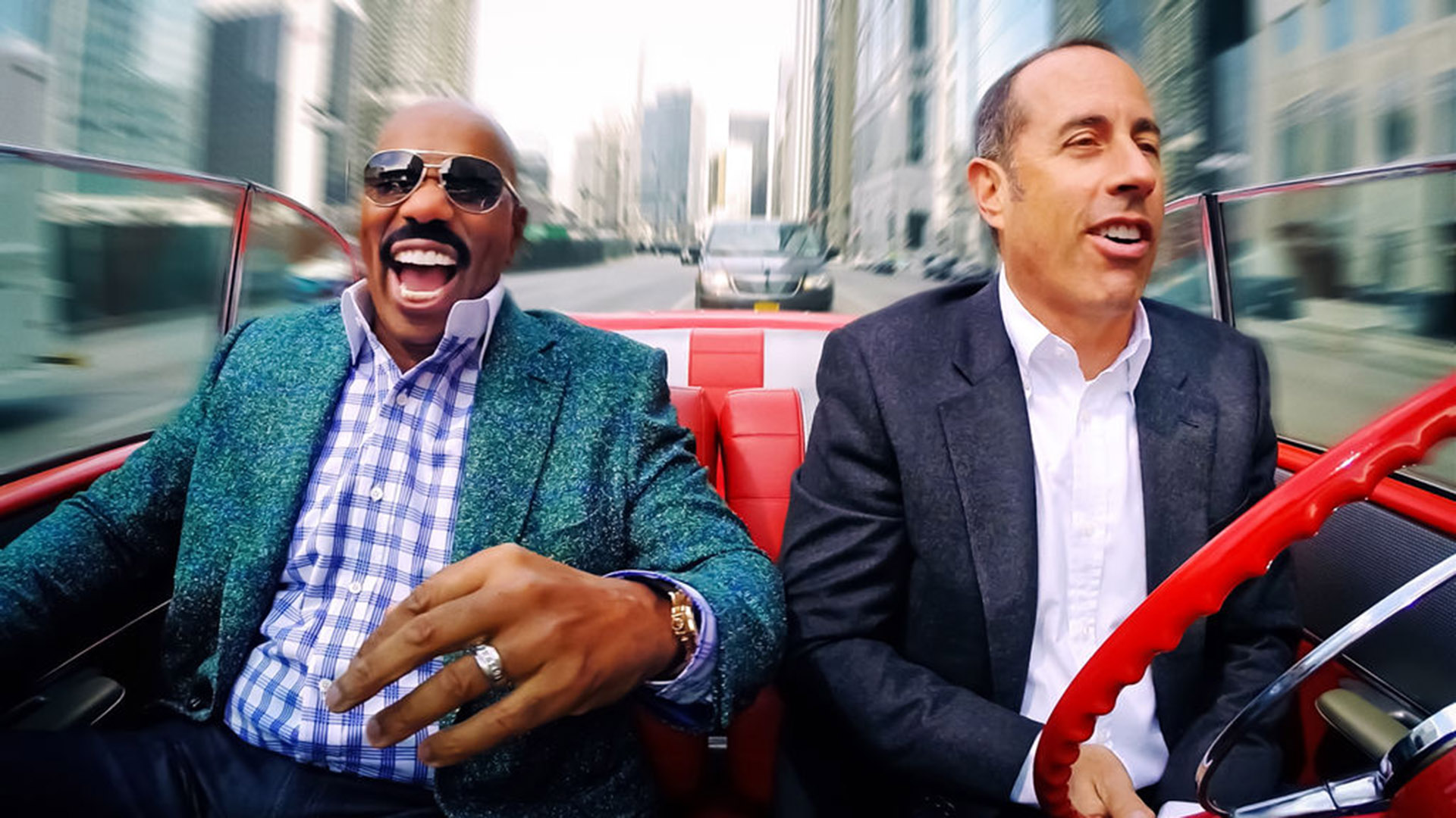 """Comedians in cars getting coffee"""