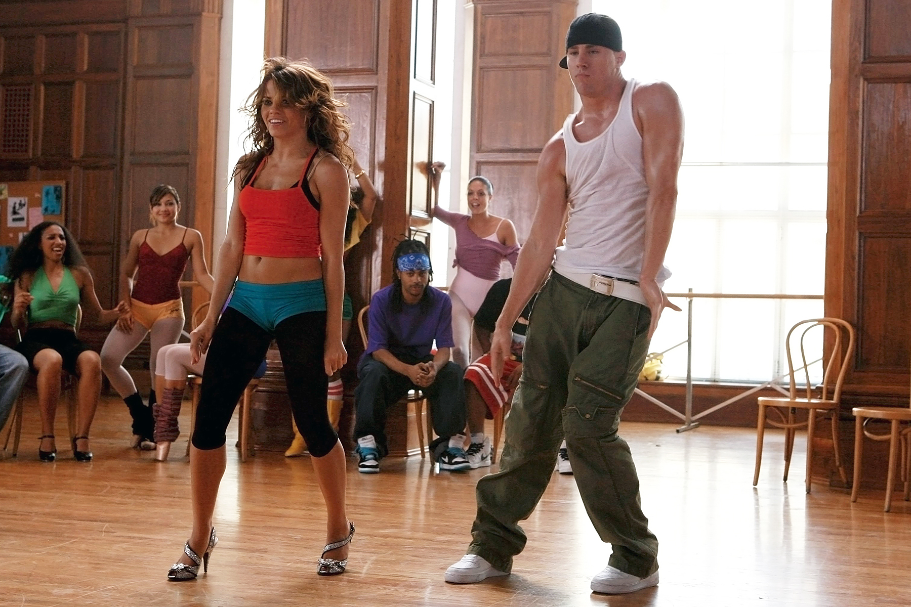 """Channing Tatum y su esposa, la actriz Jenna Dewan-Tatum, se conocieron en el set de la primera película de """"Step Up"""", en 2006."""