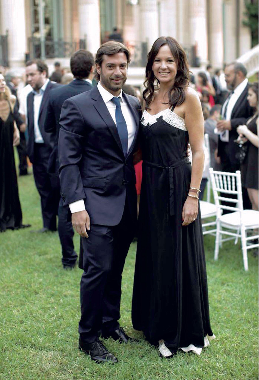 Carolina Stanley –ministra de Desarrollo Social de la Nación– con su marido, Federico Salvai –jefe de Gabinete de Ministros de la Provincia de Buenos Aires–. (Foto Marcelo Espinosa/GENTE)