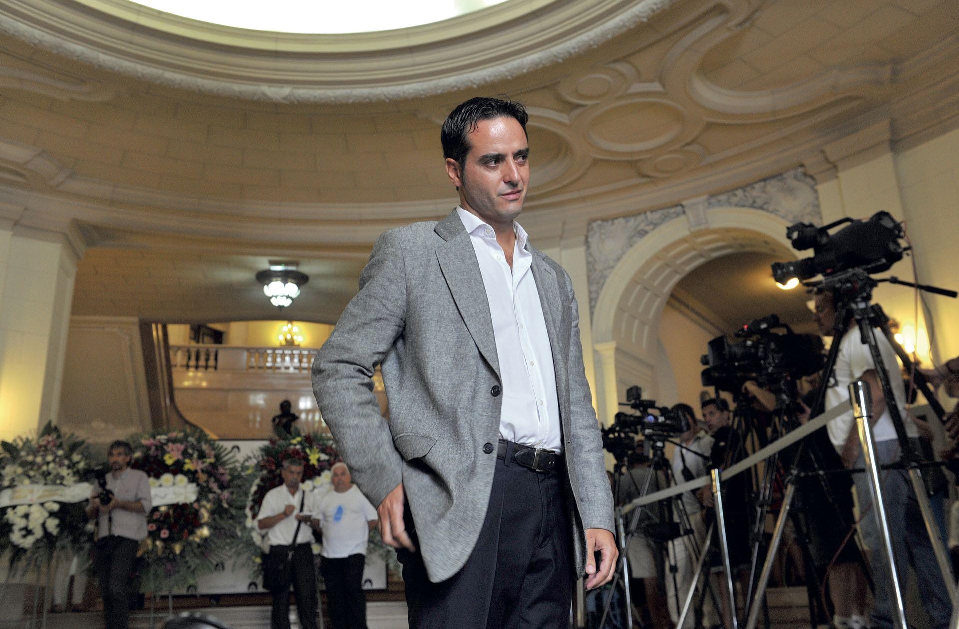 Ignacio González Prieto no se pudo contener (Fotos: Enrique García Medina y Maxi Vernazza/GENTE)